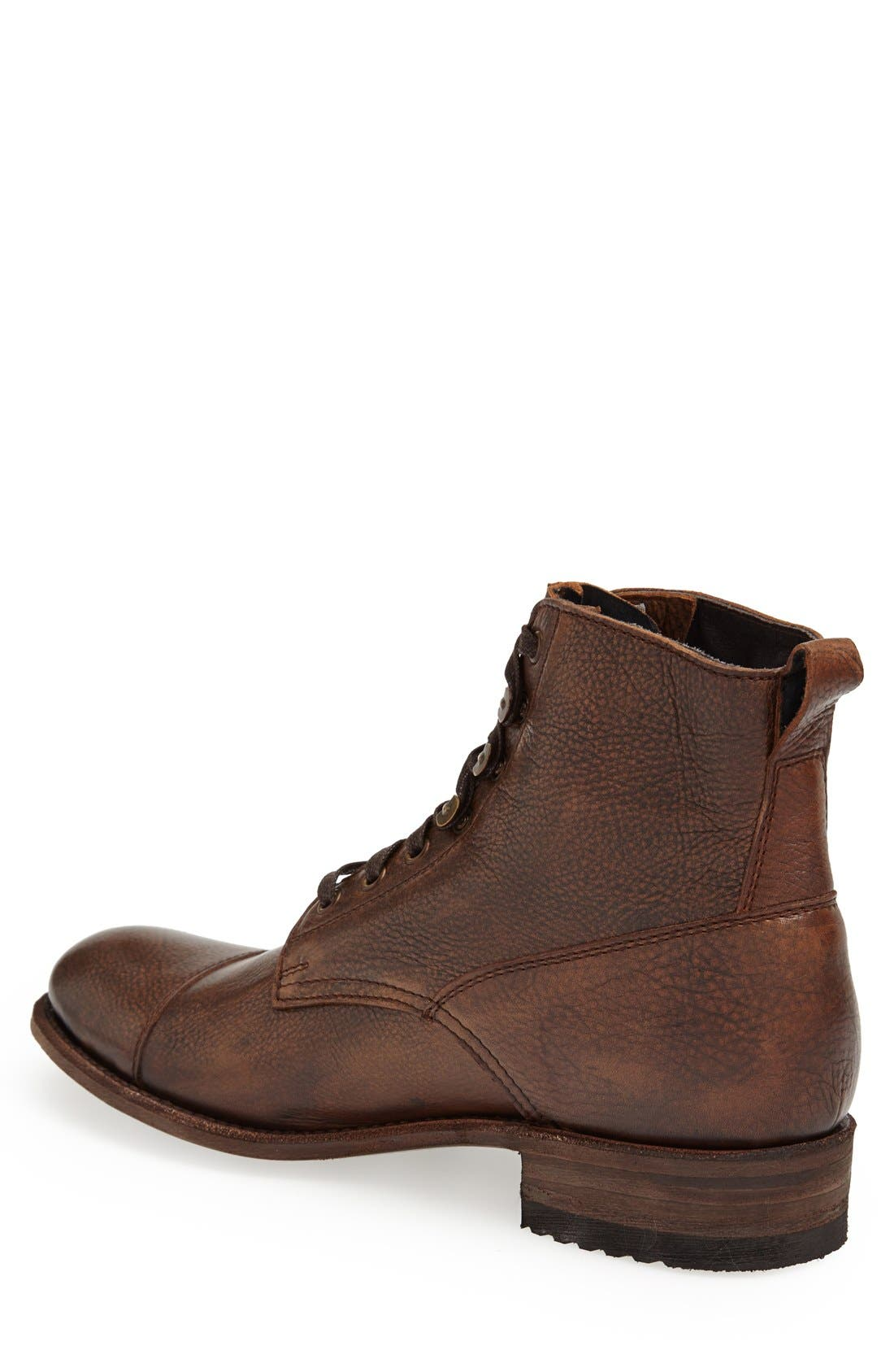 'Station' Cap Toe Boot,                             Alternate thumbnail 2, color,                             200