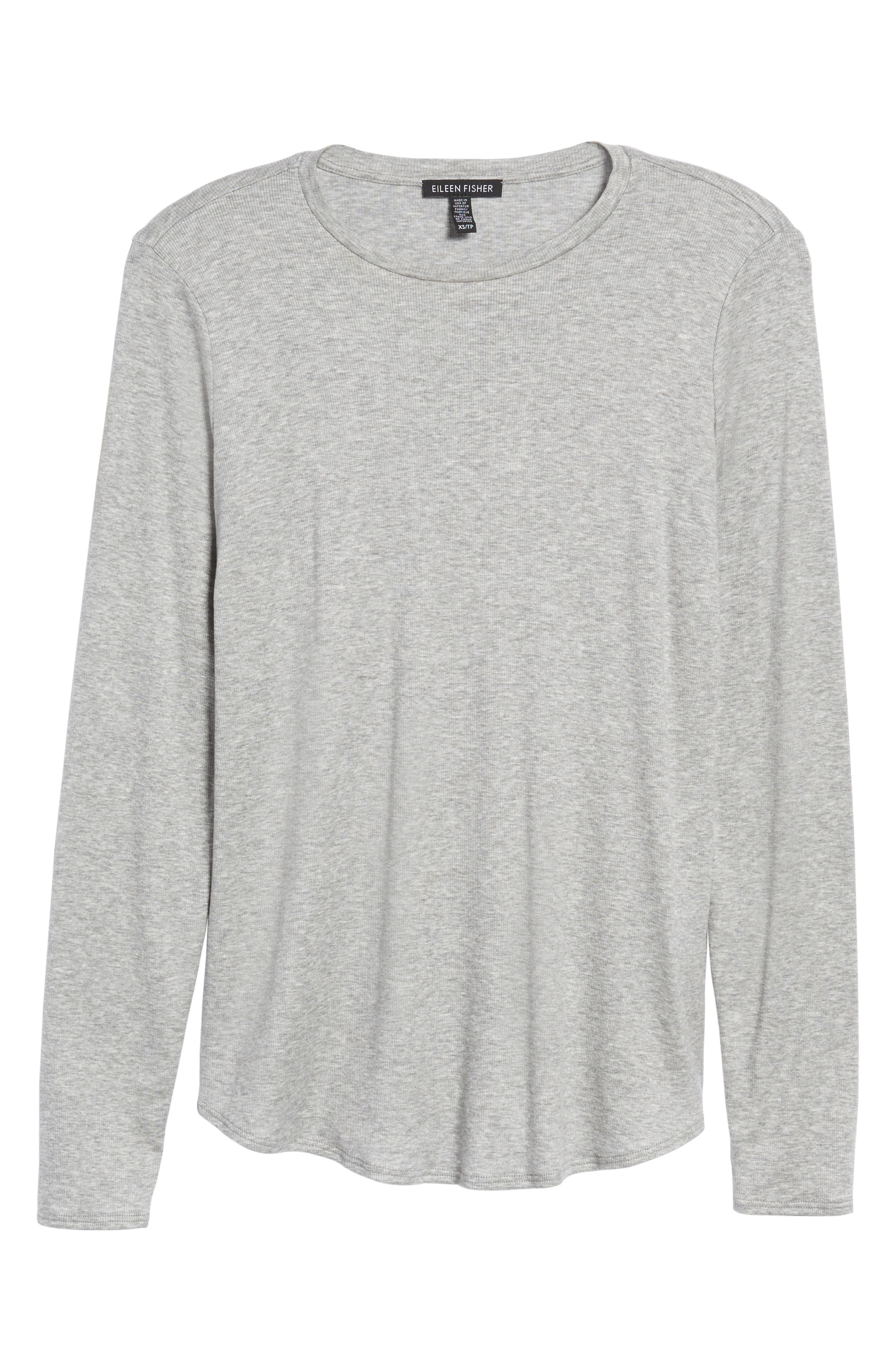 Stretch Tencel<sup>®</sup> Top,                             Alternate thumbnail 6, color,                             052