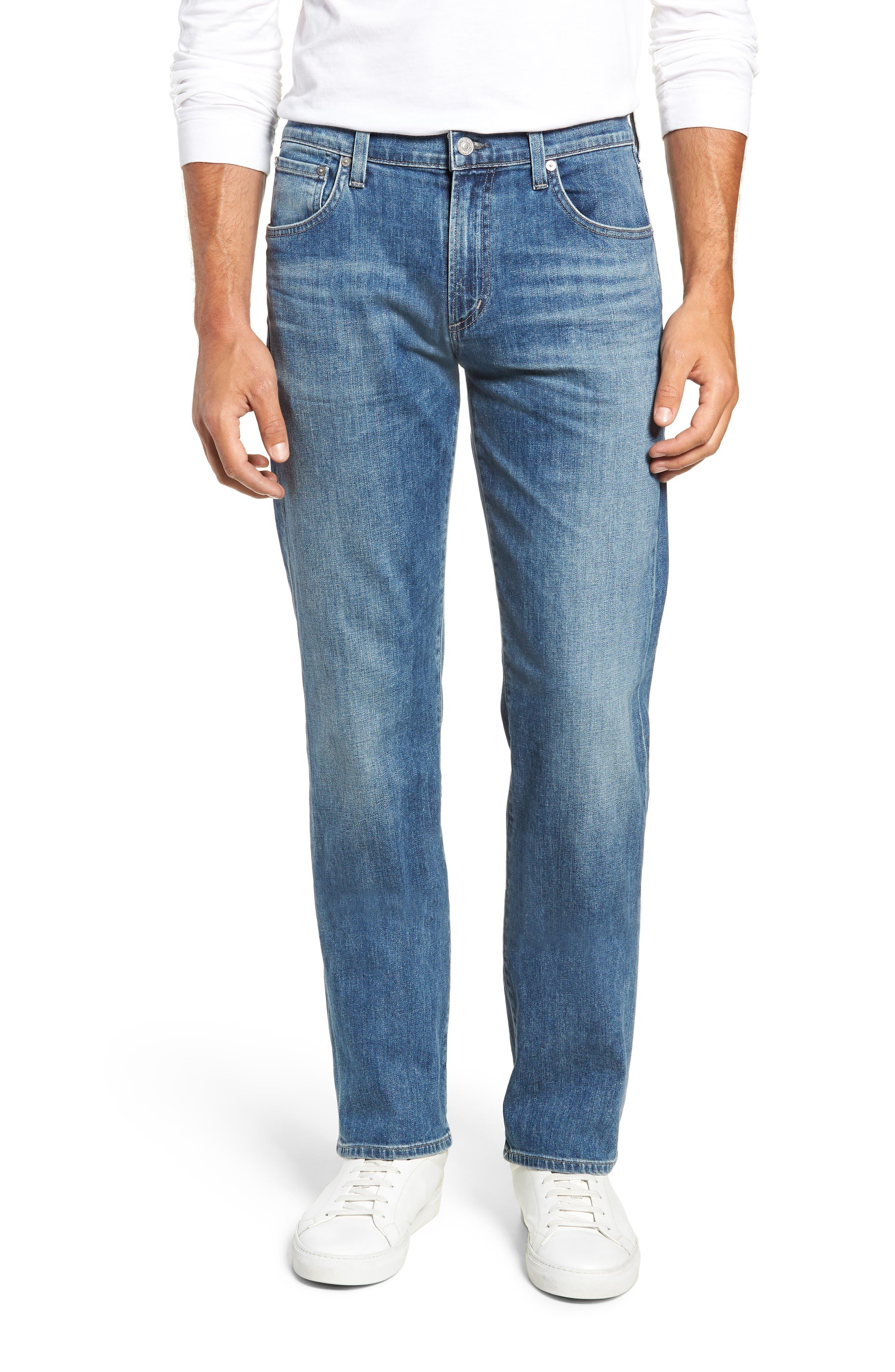 Sid Straight Leg Jeans,                         Main,                         color, YUKON