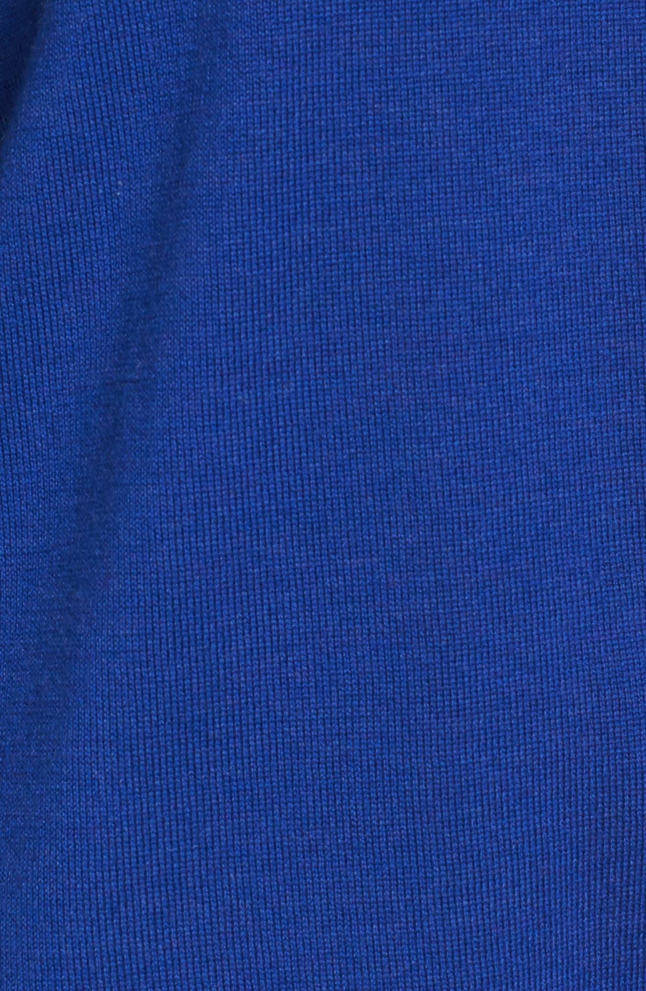 Merino Wool Boxy Turtleneck Sweater,                             Alternate thumbnail 28, color,