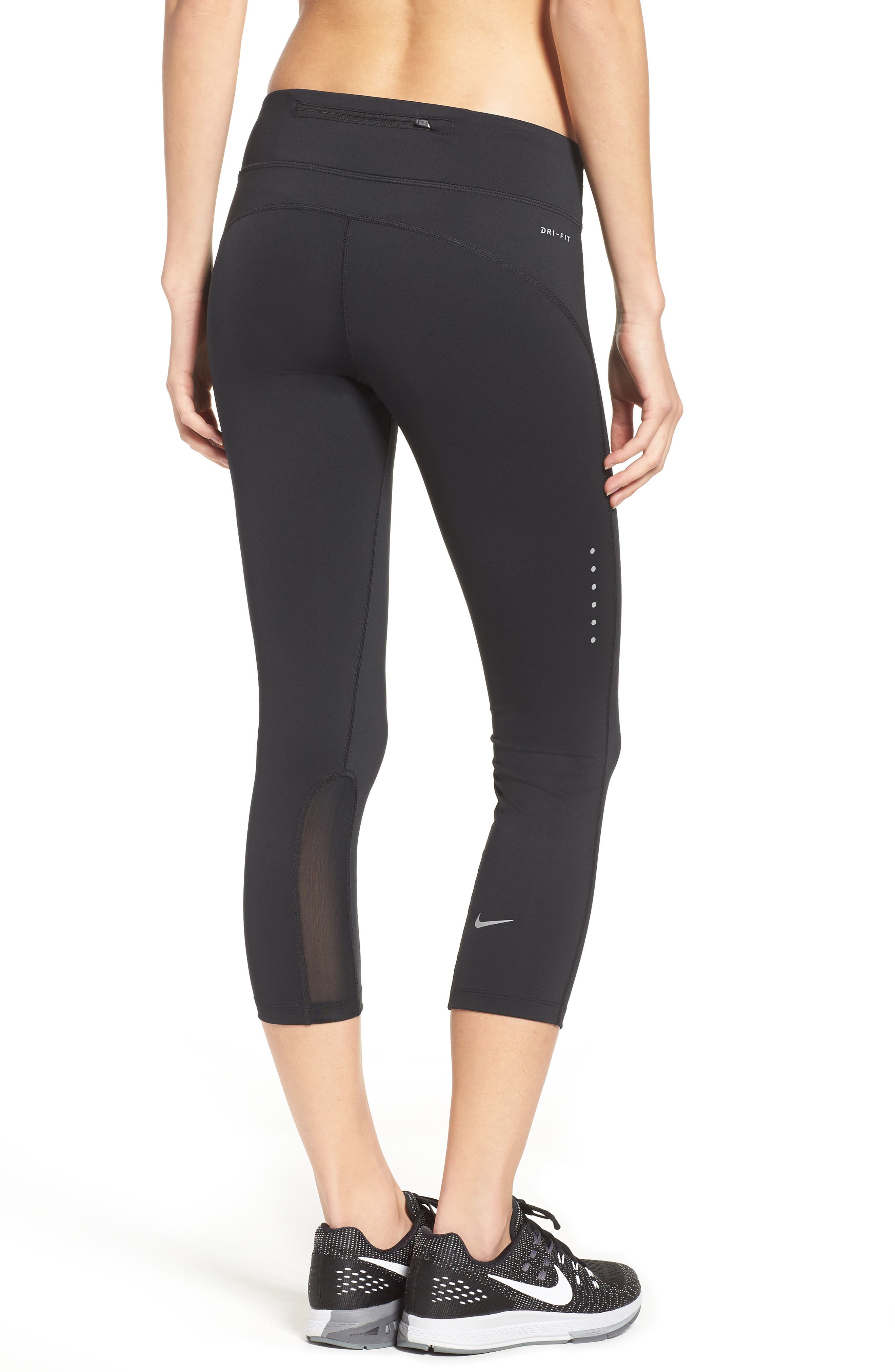Power Epic Run Crop Tights,                             Alternate thumbnail 9, color,
