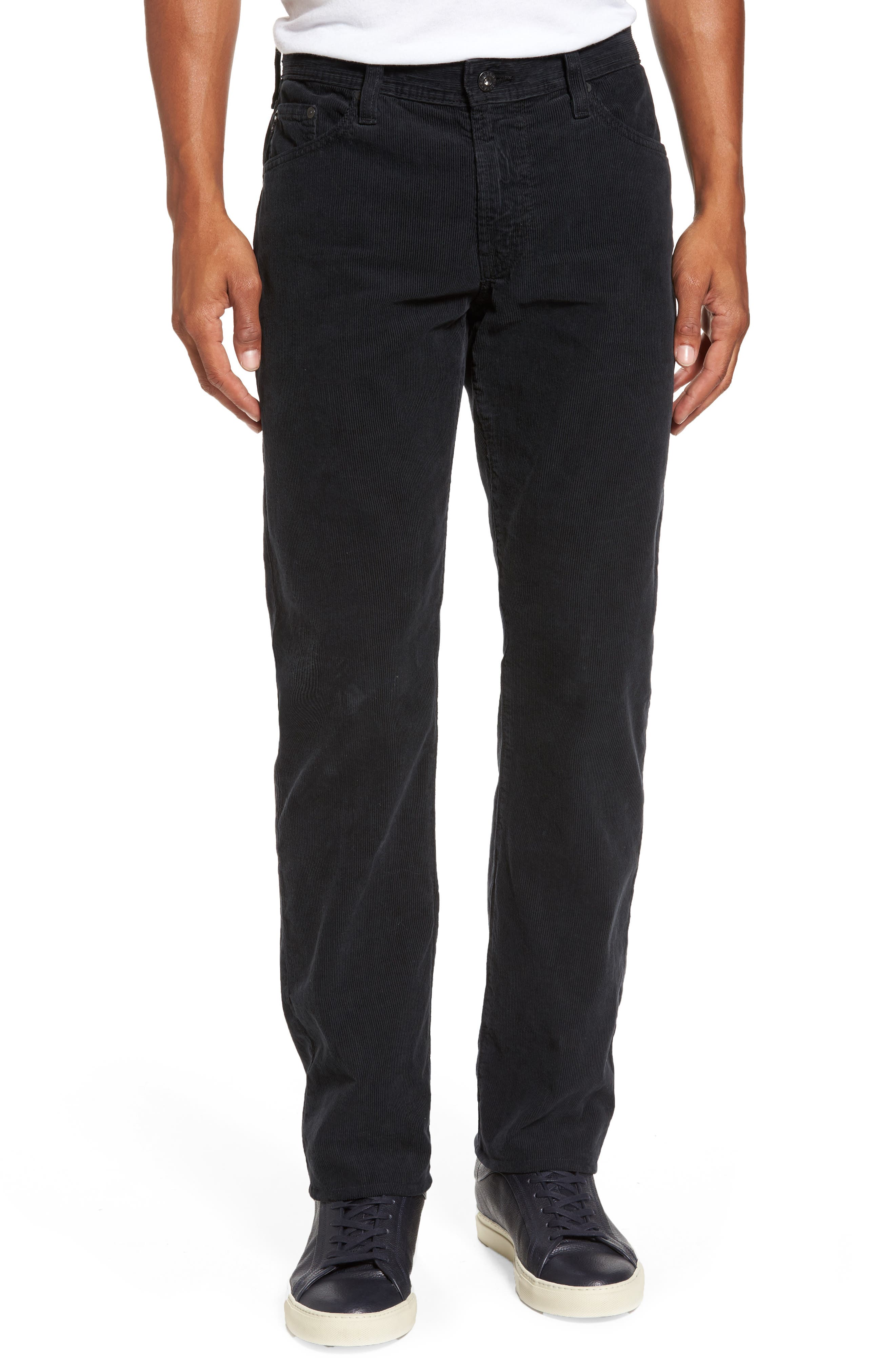 'Graduate' Tailored Straight Leg Corduroy Pants,                             Main thumbnail 1, color,                             017