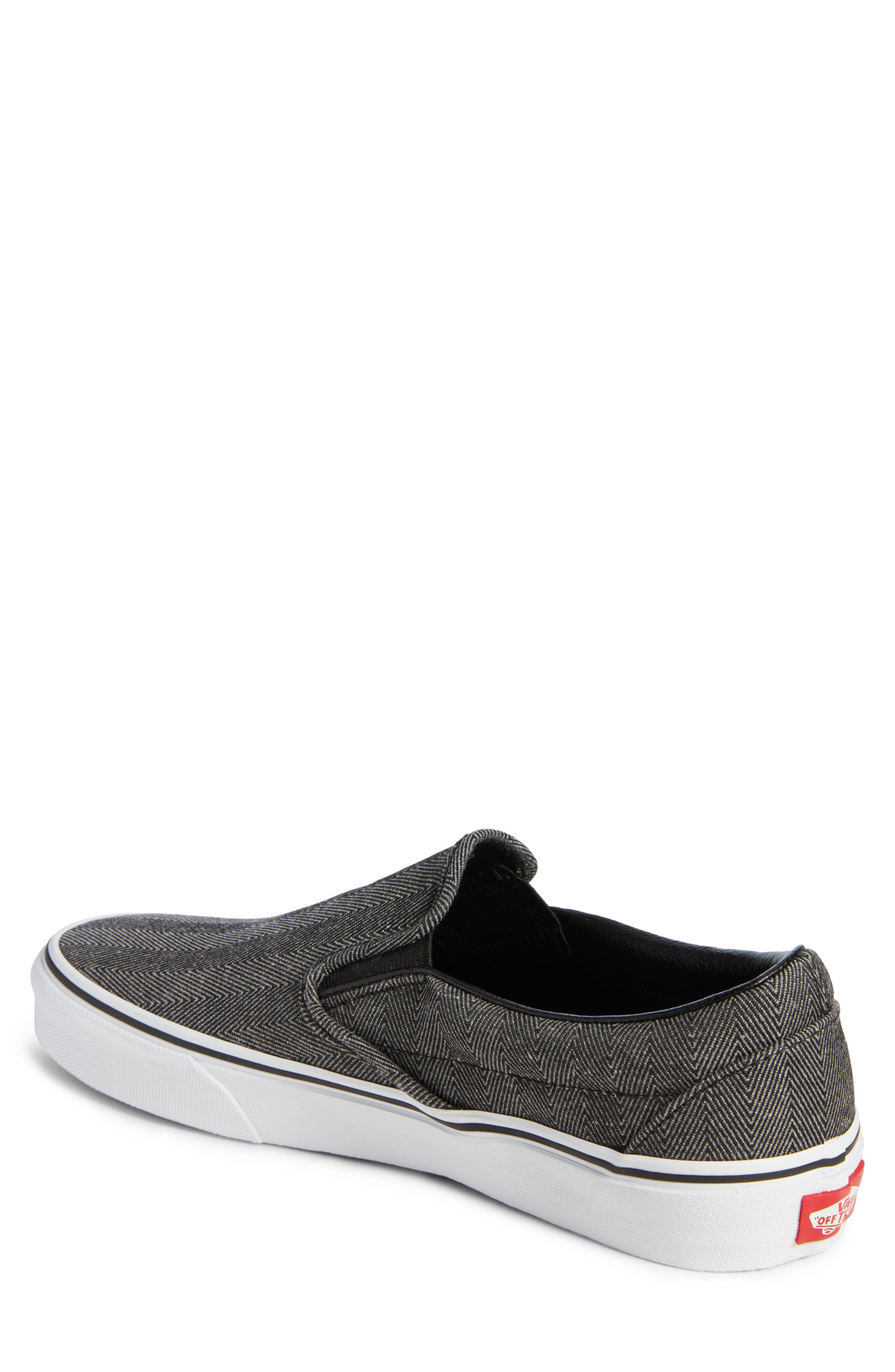 'Classic' Slip-On Sneaker,                             Alternate thumbnail 2, color,                             019