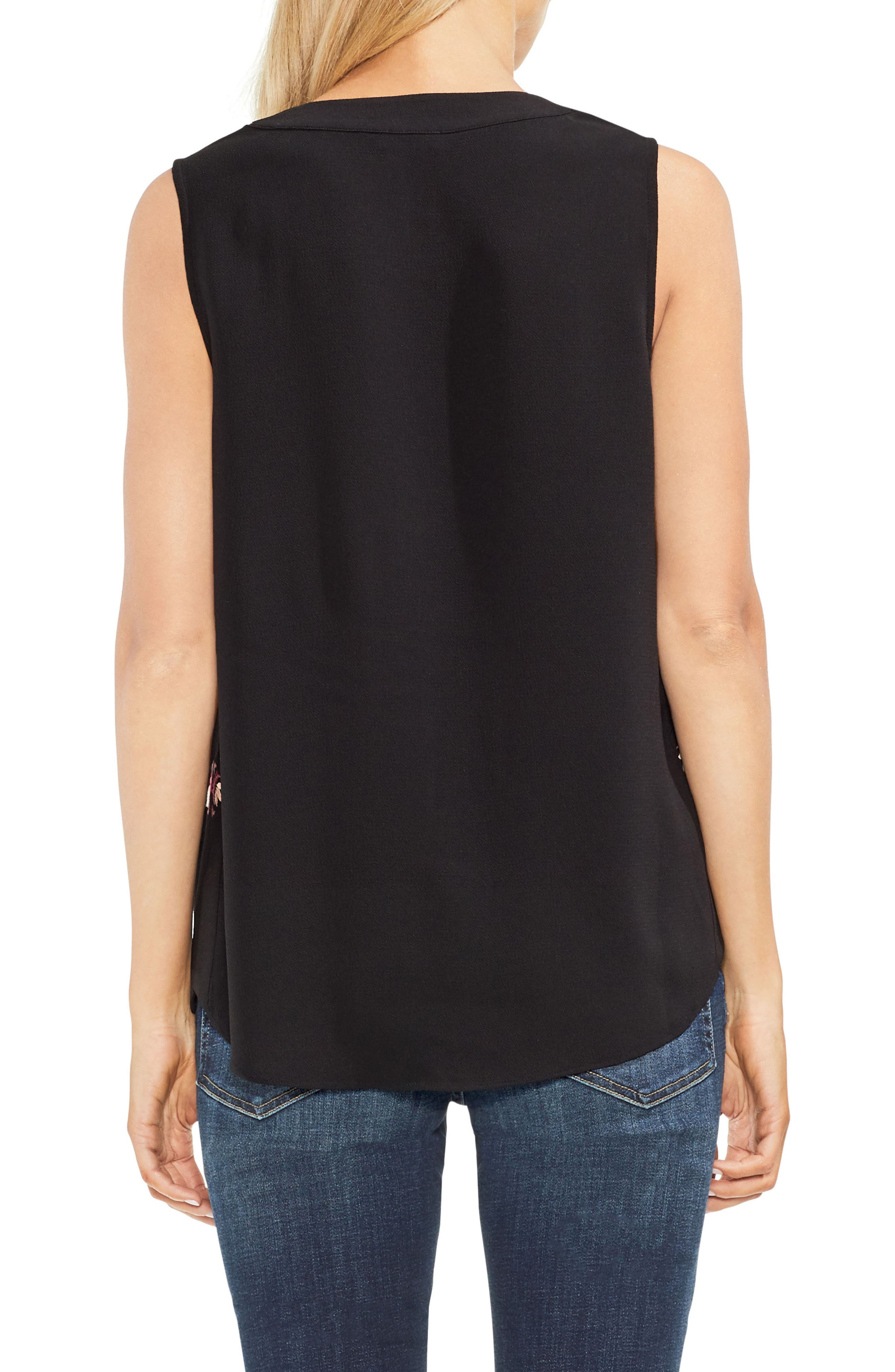 Embroidered Tank,                             Alternate thumbnail 2, color,                             001