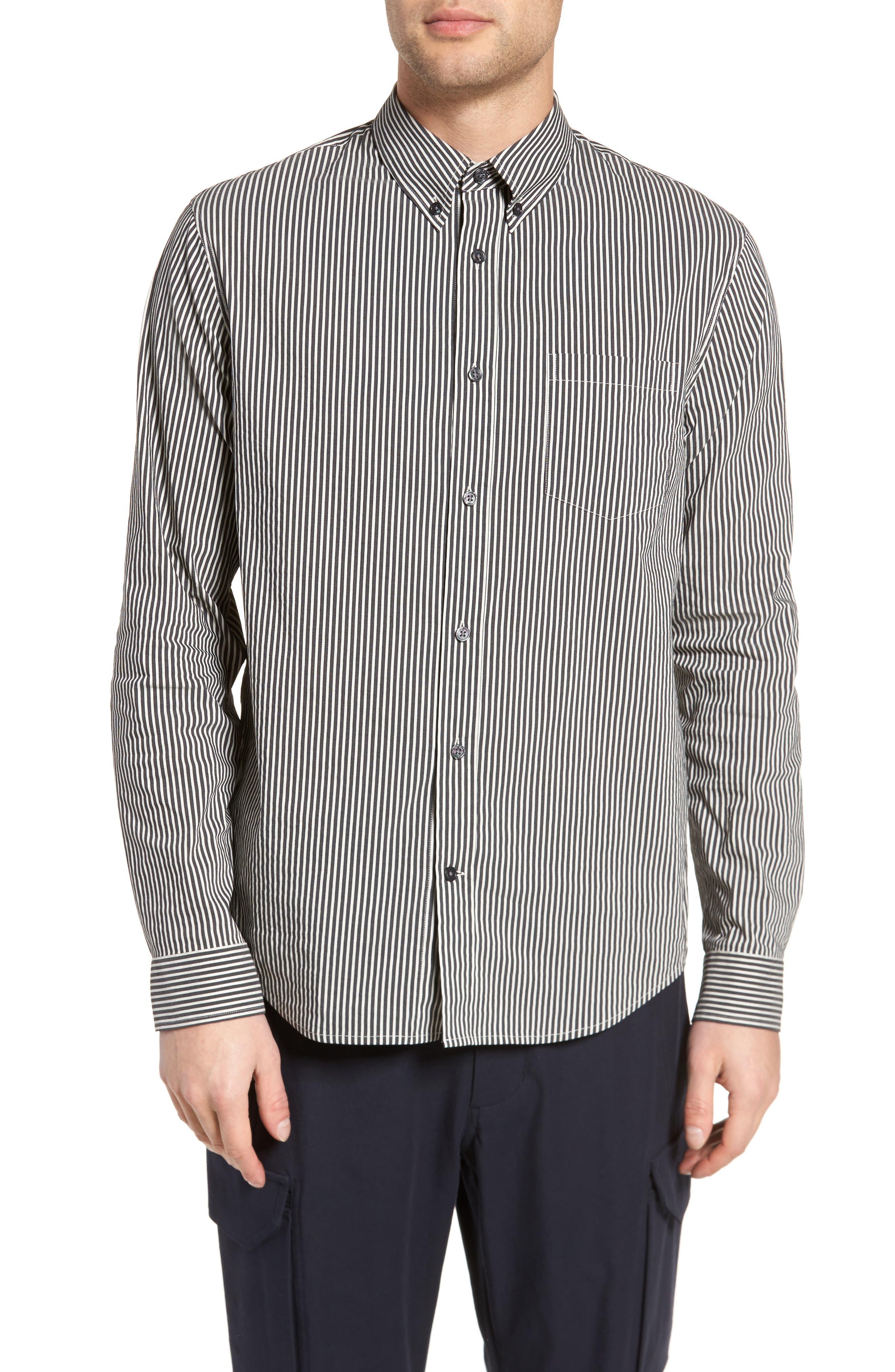 Bar Stripe Sport Shirt,                         Main,                         color,
