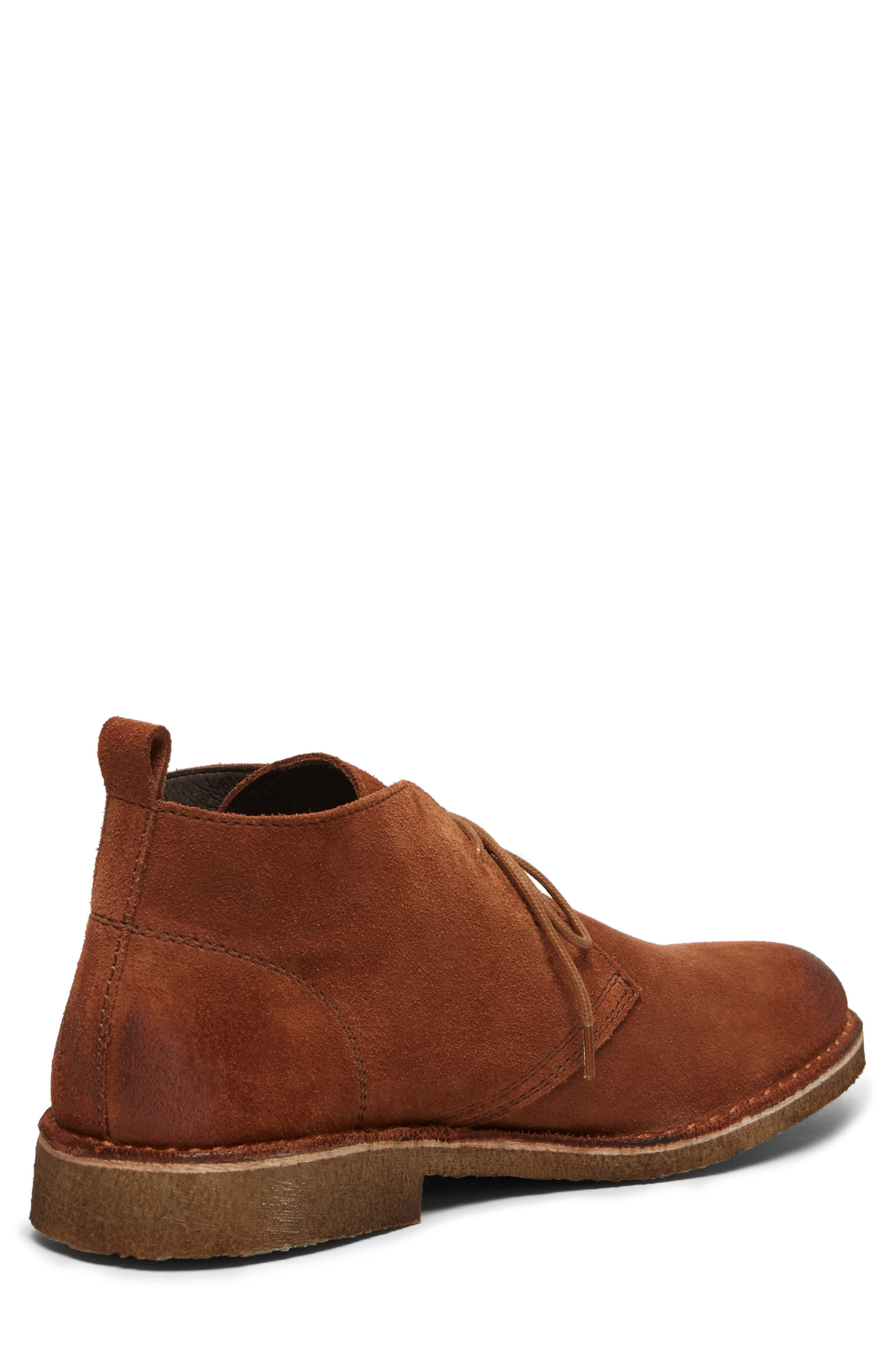 Hewitt Chukka Boot,                             Alternate thumbnail 5, color,                             RUST SUEDE