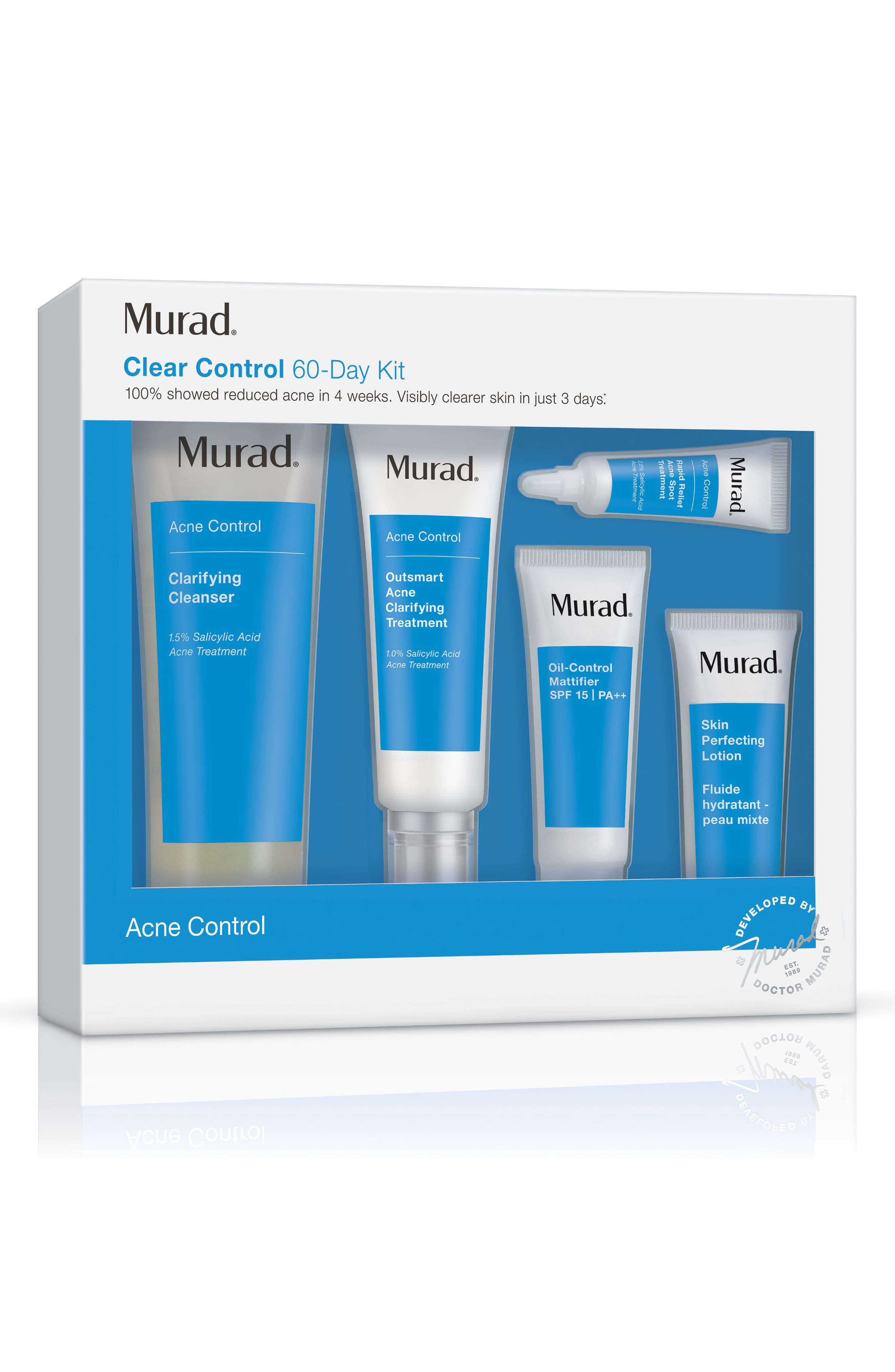 Clear Control 60-Day Acne Kit,                             Alternate thumbnail 2, color,                             NO COLOR