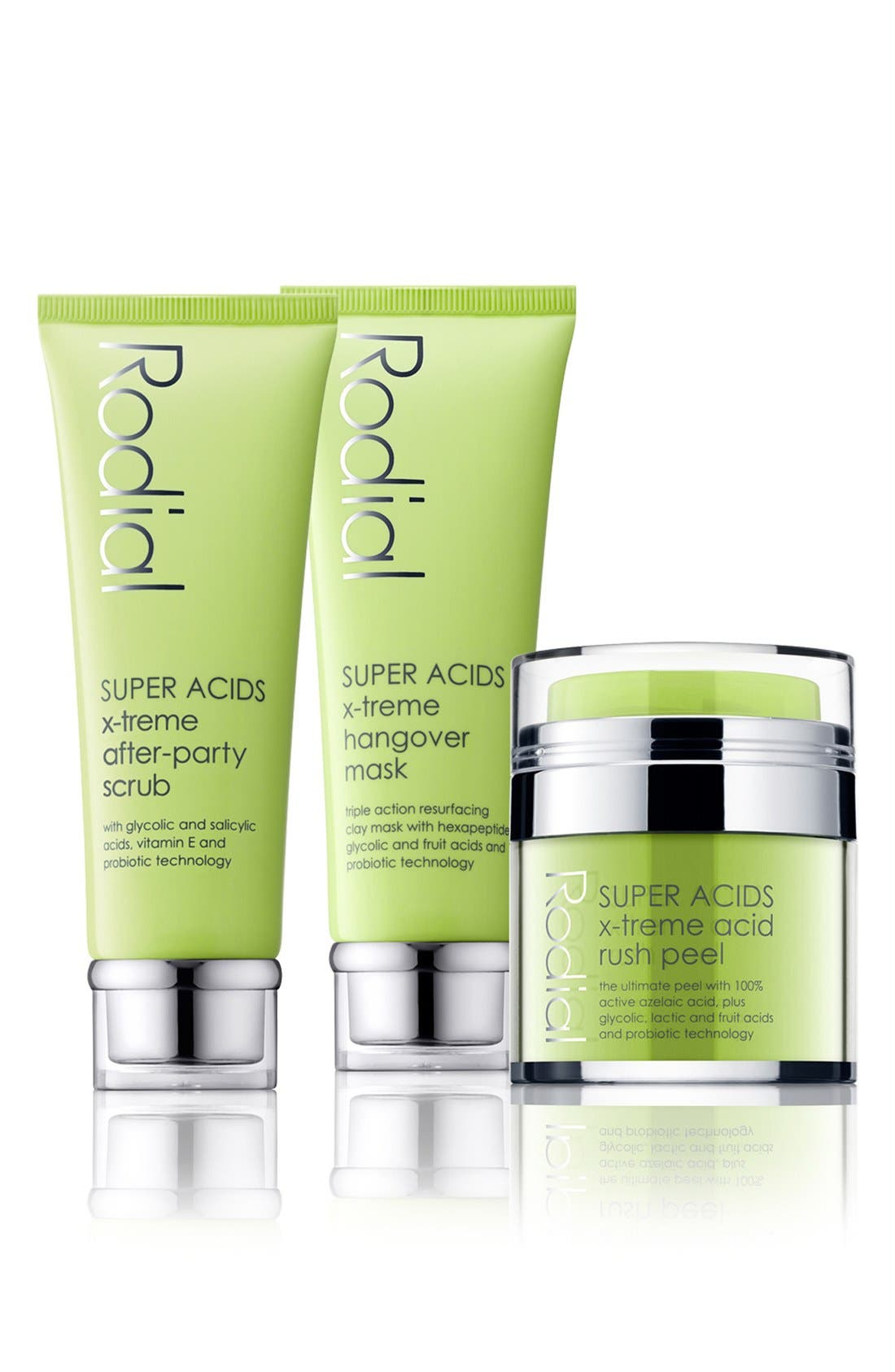 SPACE.NK.apothecary Rodial SUPER ACIDS 3-Step Peel Kit,                             Main thumbnail 1, color,                             000