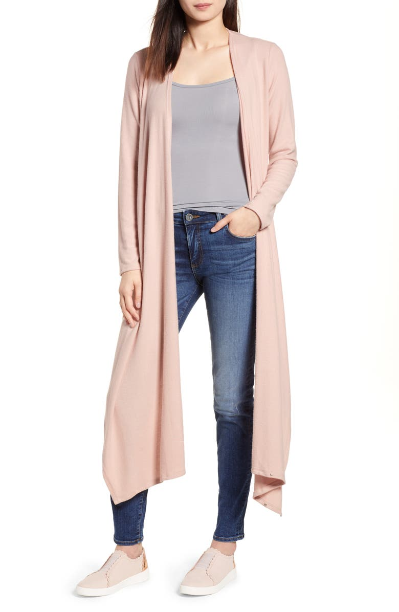 Convertible Cozy Fleece Wrap Cardigan