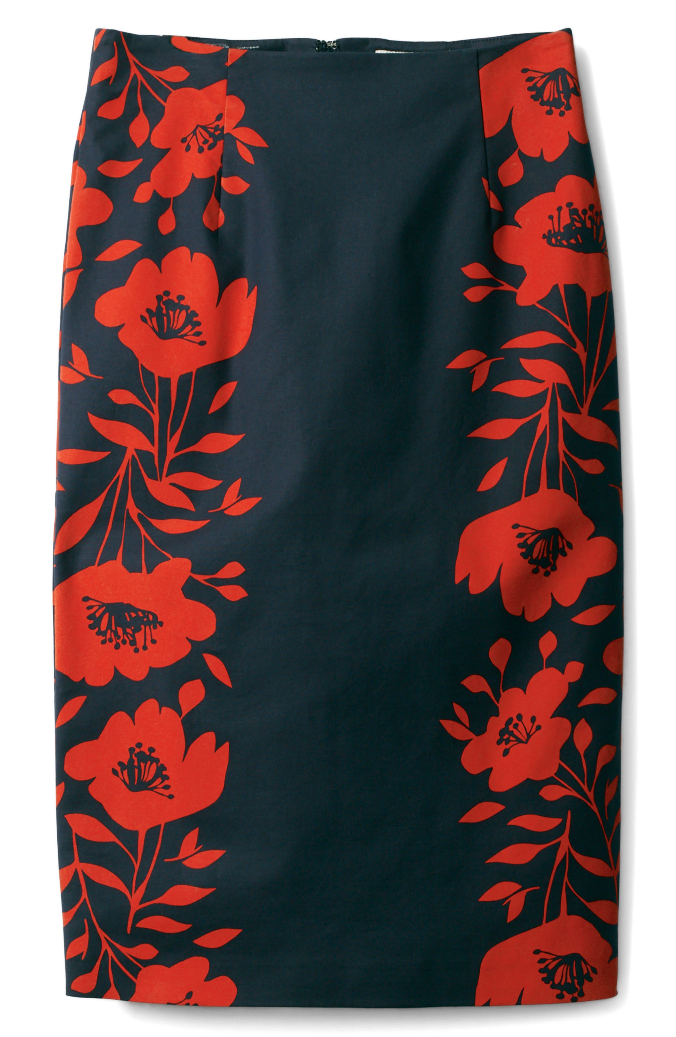 BODEN,                             Richmond Print Skirt,                             Main thumbnail 1, color,                             414