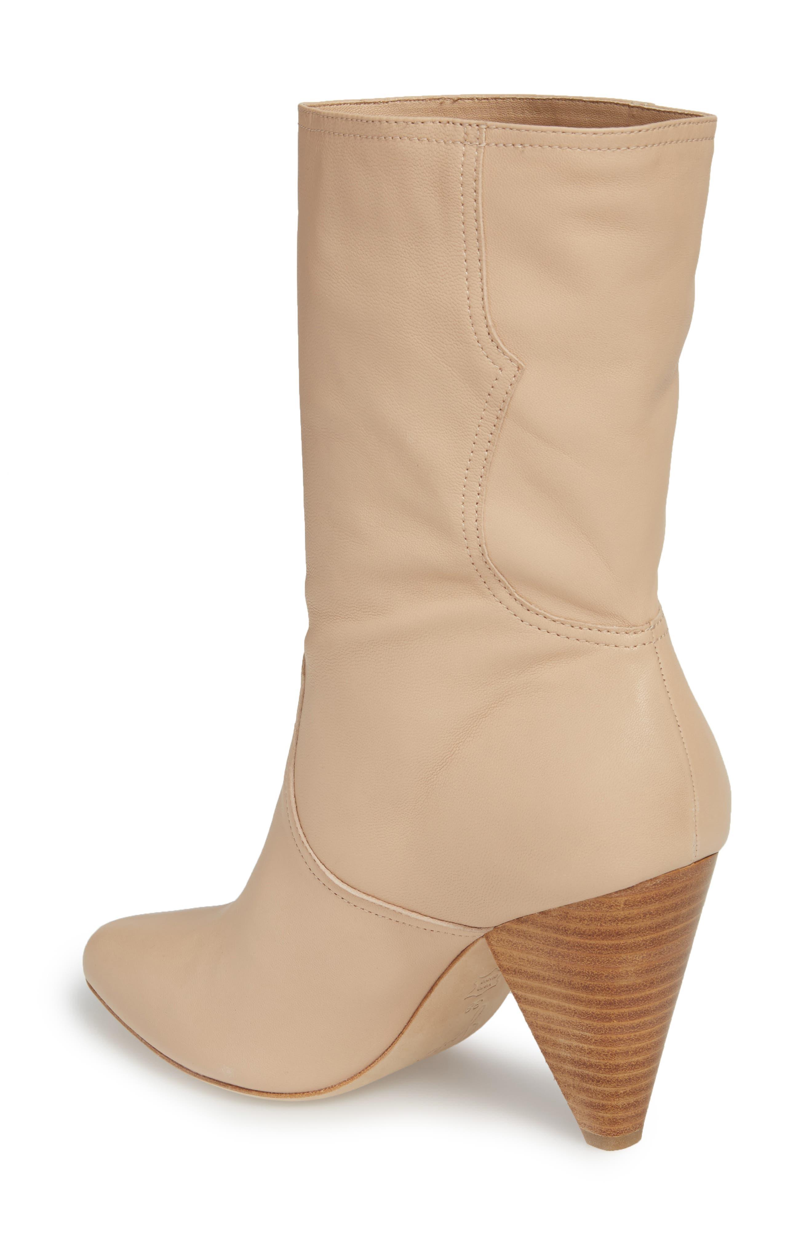 Gabbissy Almond Toe Boot,                             Alternate thumbnail 2, color,                             BLUSH