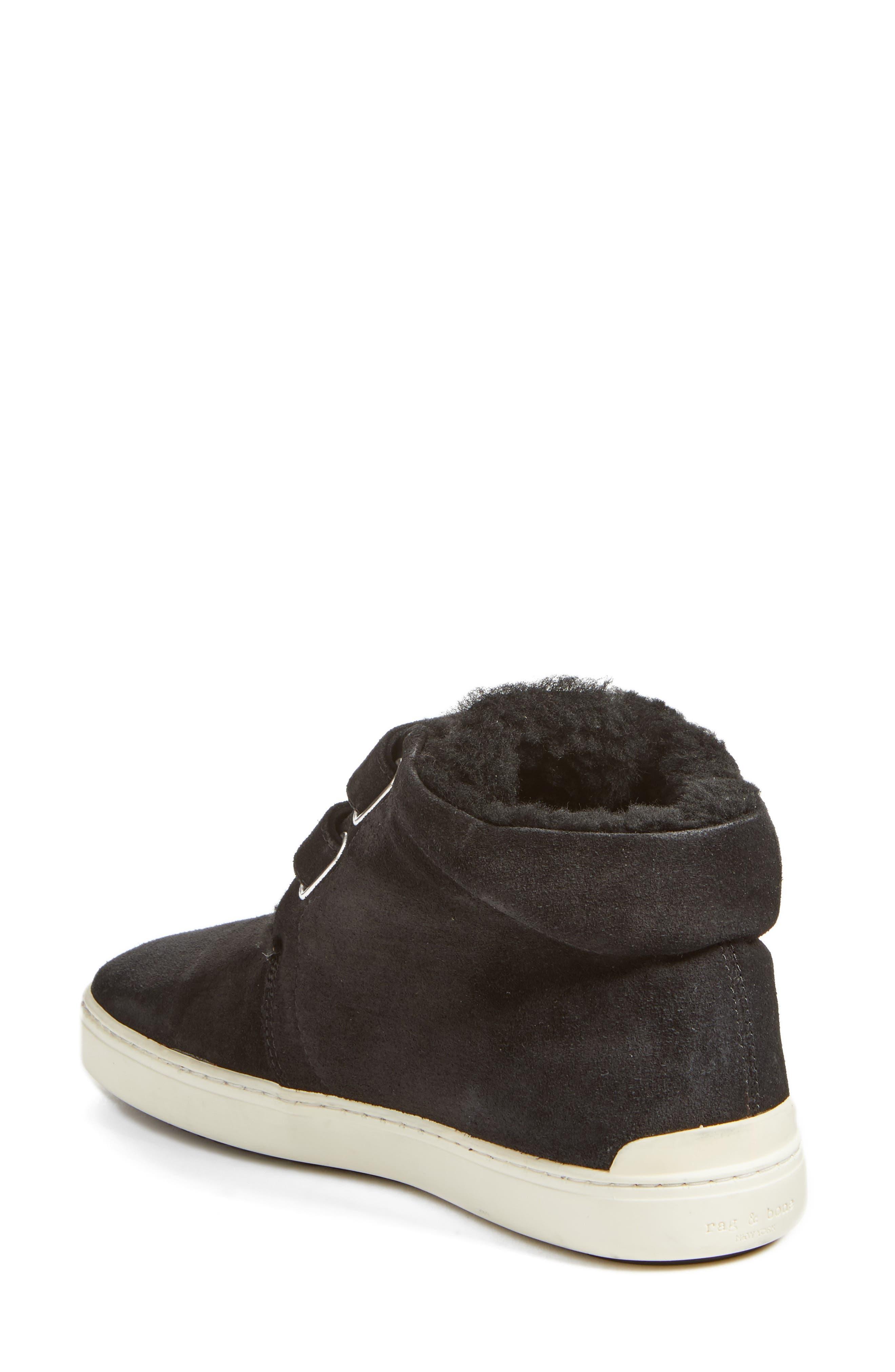 Kent Genuine Shearling Lined Sneaker,                             Alternate thumbnail 2, color,                             008
