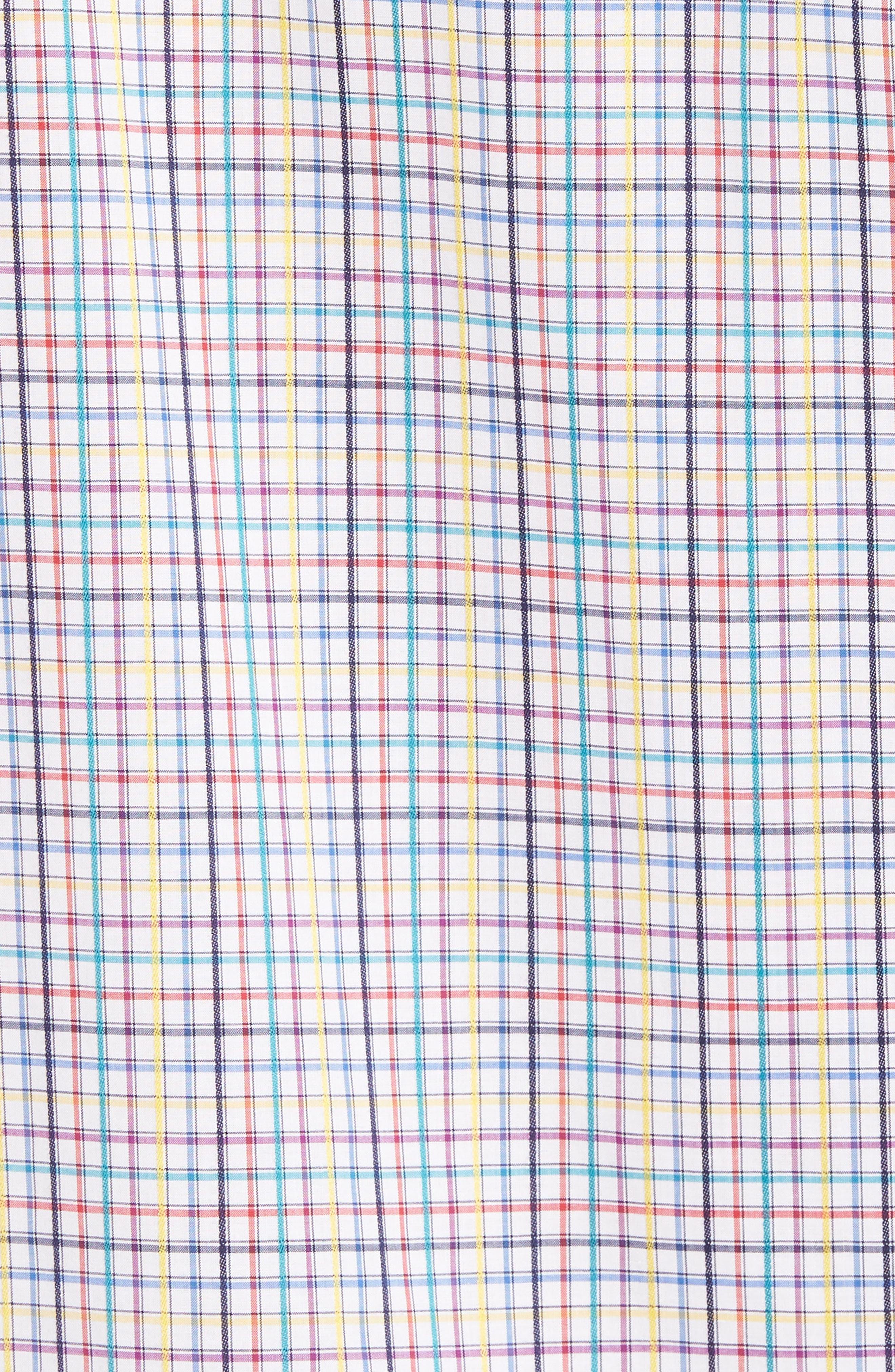 Classic Fit Woven Sport Shirt,                             Alternate thumbnail 5, color,                             601