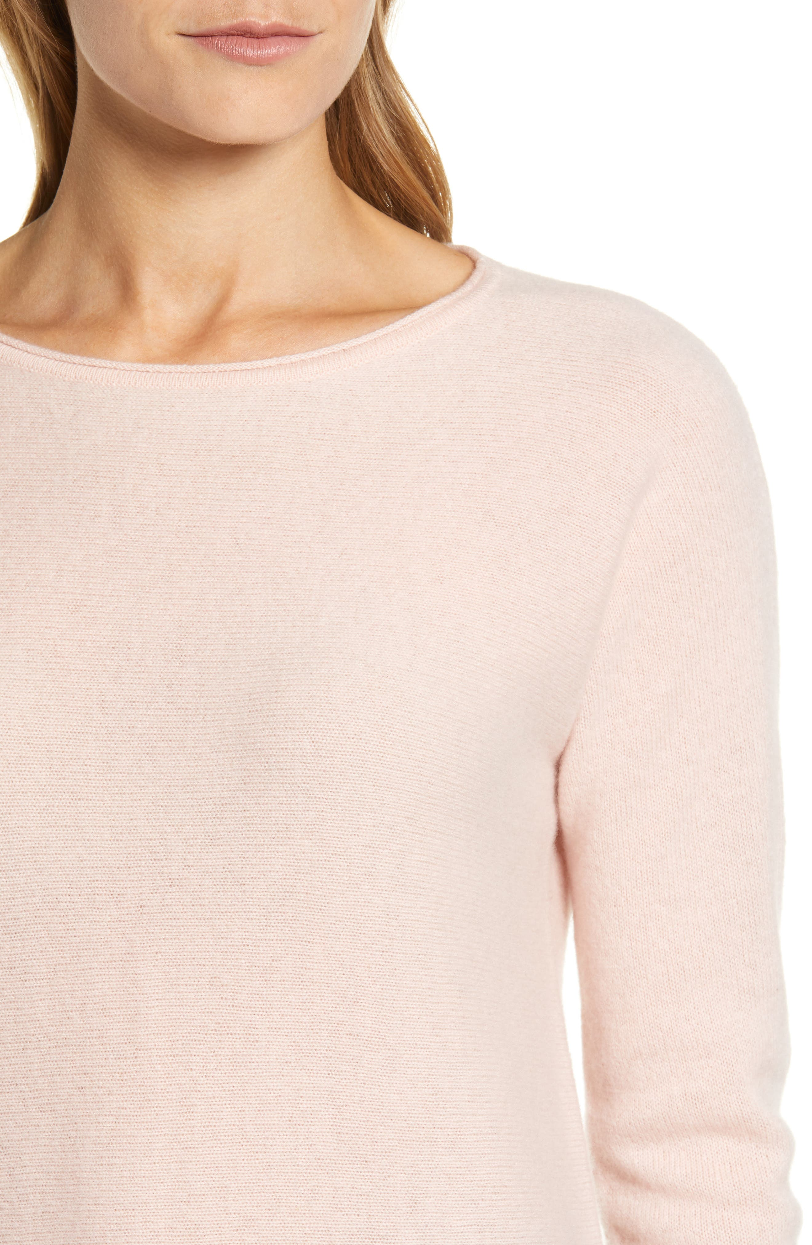 High/Low Wool & Cashmere Tunic Sweater,                             Alternate thumbnail 70, color,