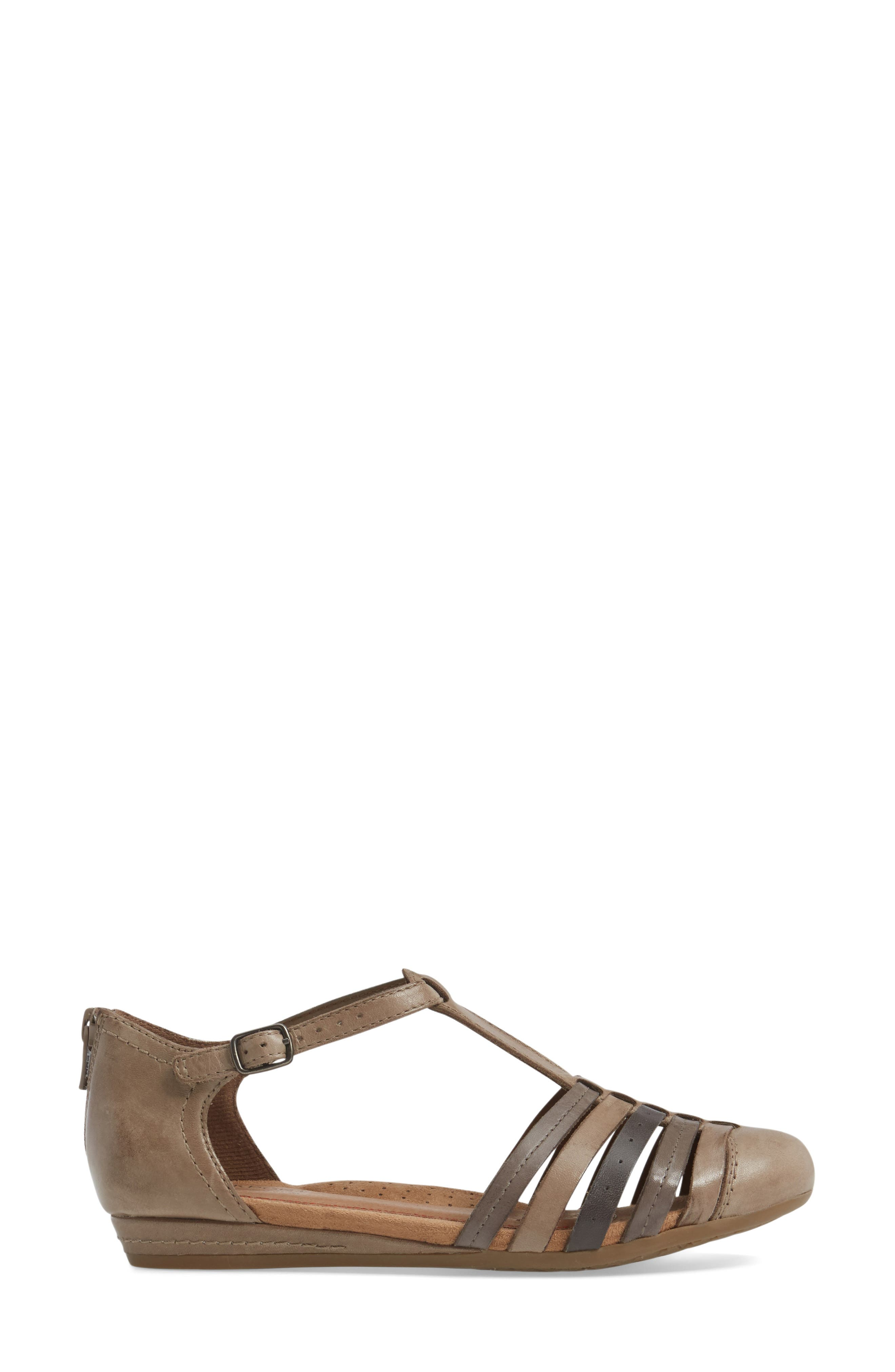 Galway T-Strap Sandal,                             Alternate thumbnail 14, color,