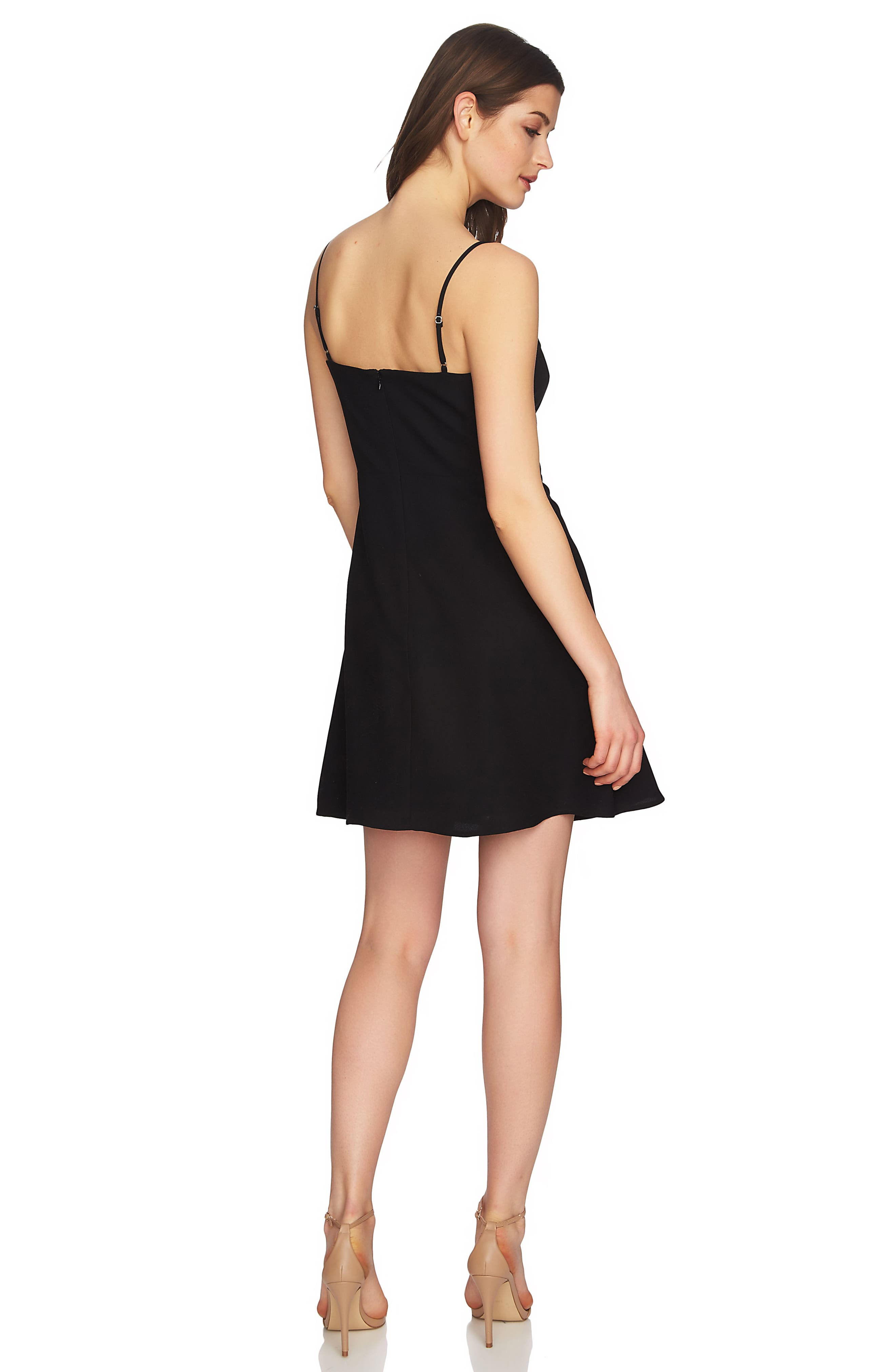 Robin Lace-Up Dress,                             Alternate thumbnail 3, color,