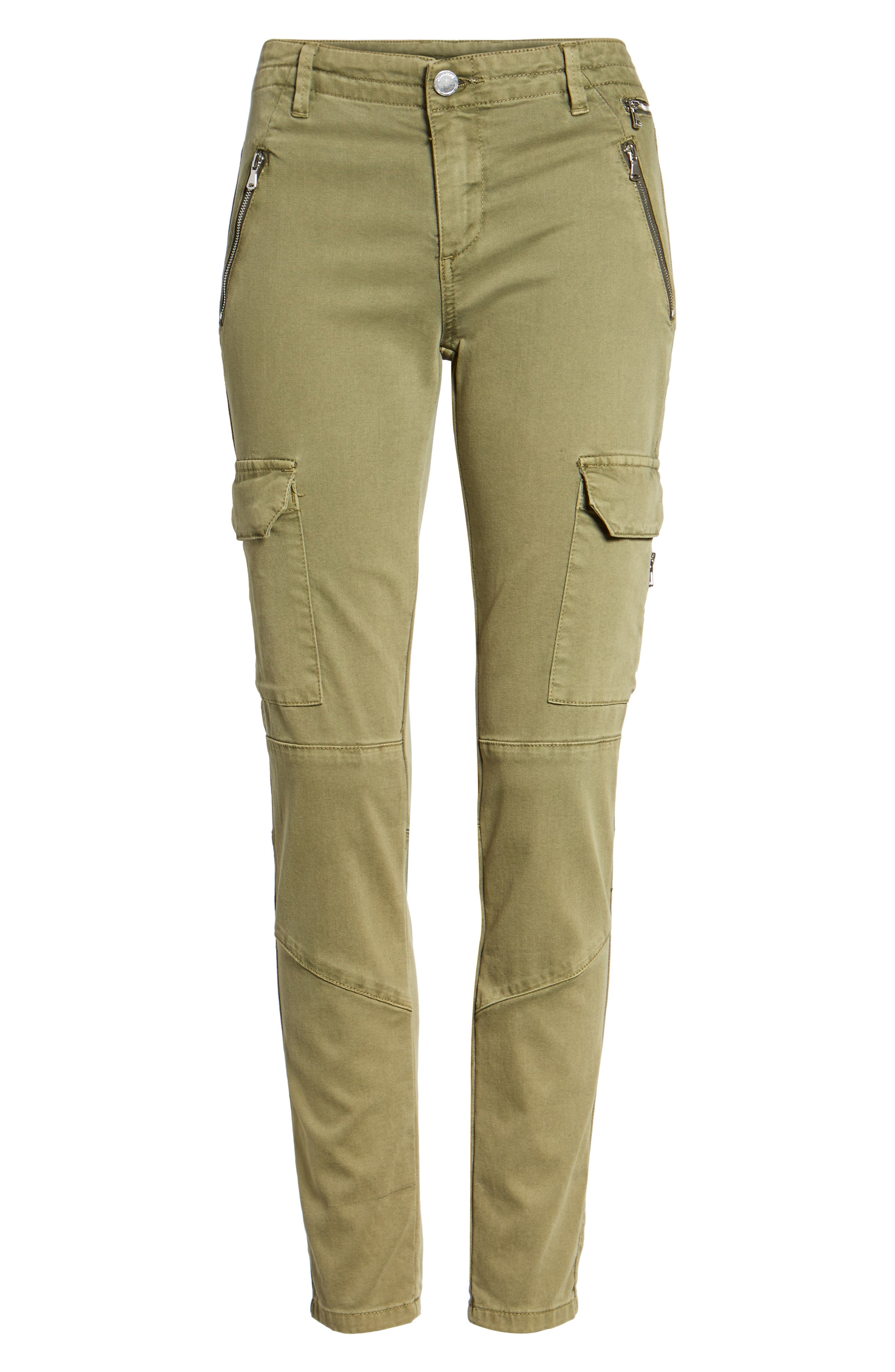 Skinny Cargo Pants,                             Alternate thumbnail 6, color,                             300
