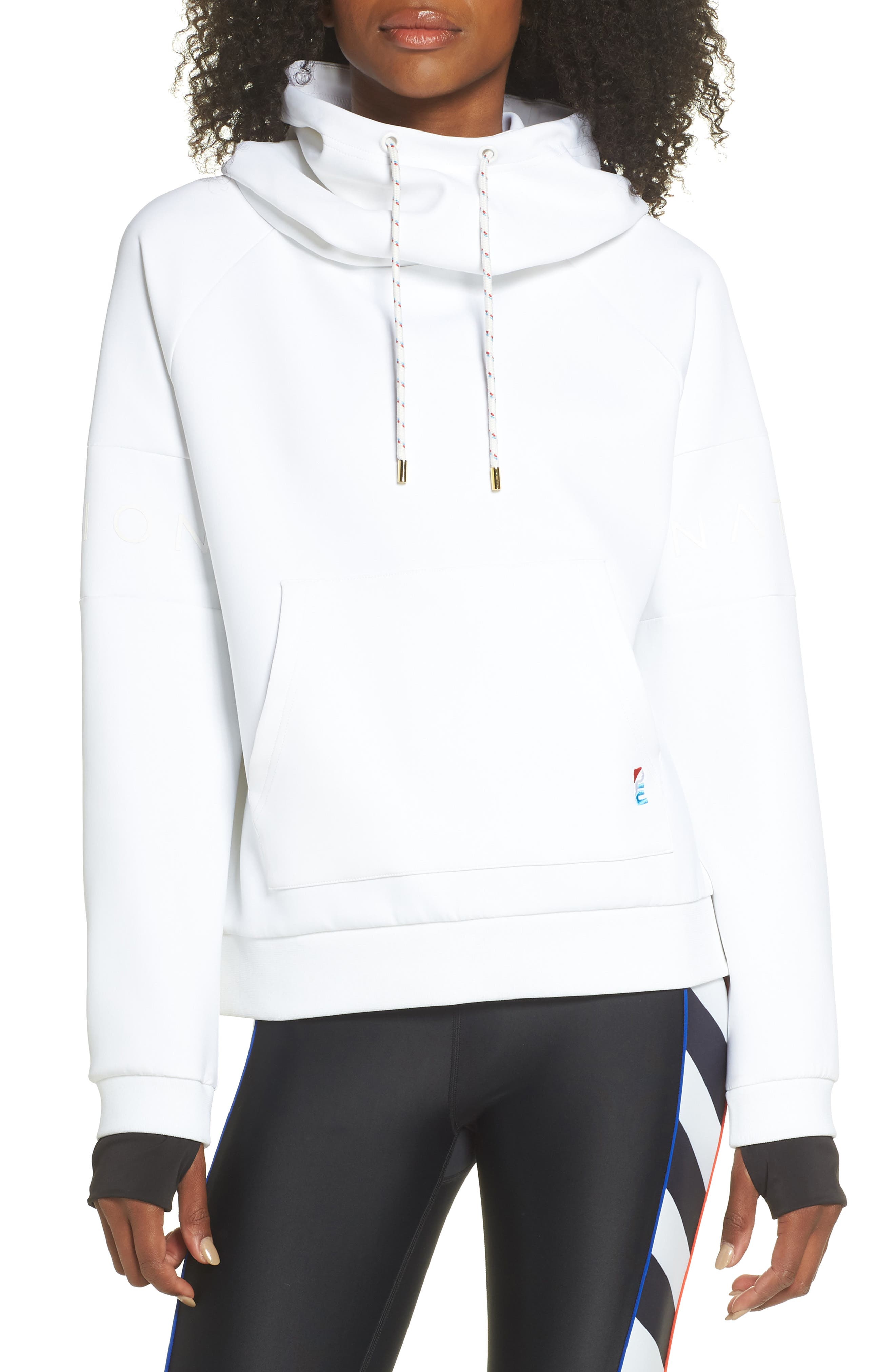 The Defender Ace Hoodie,                         Main,                         color, WHITE