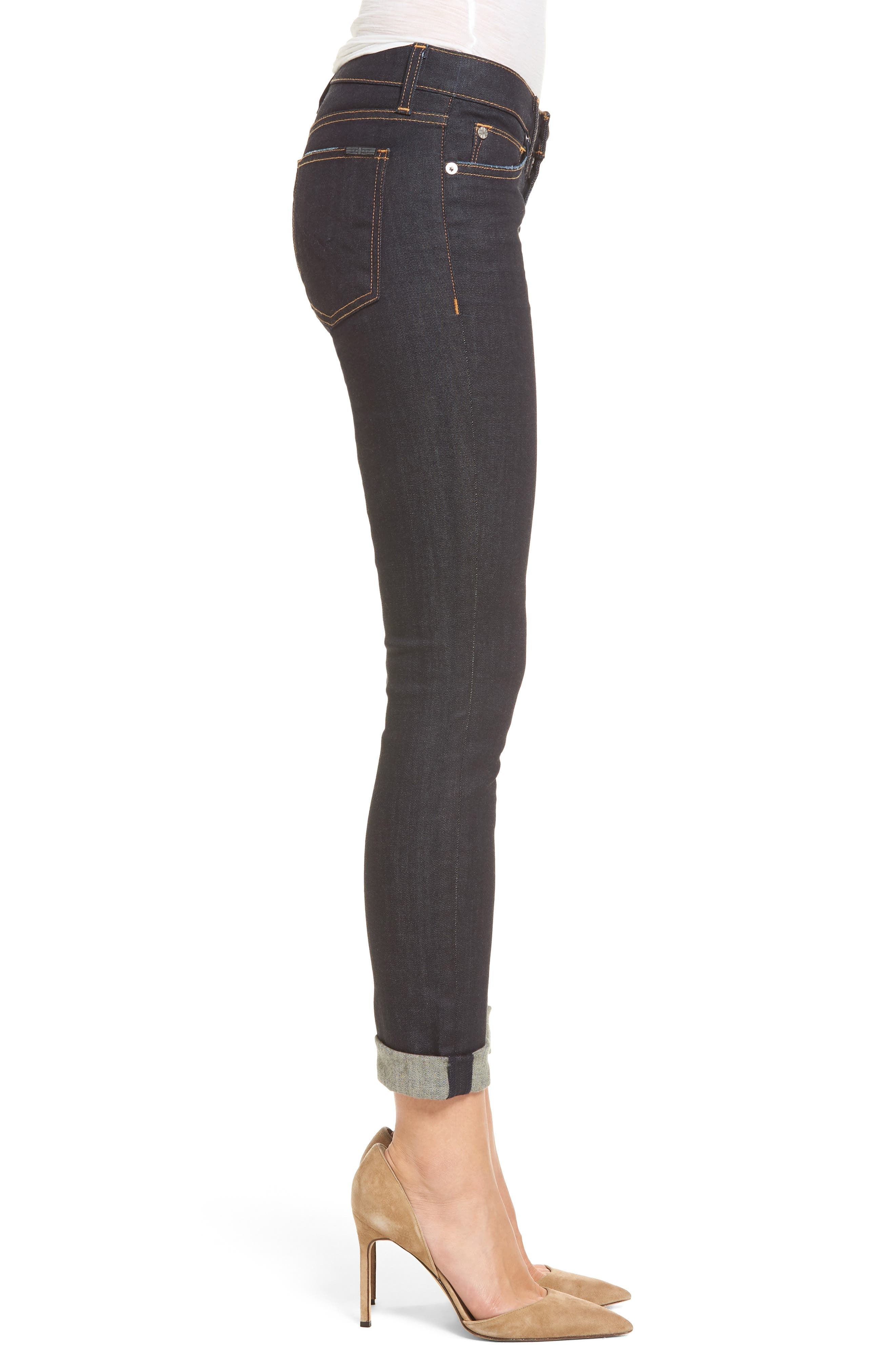 Tally Crop Skinny Jeans,                             Alternate thumbnail 3, color,                             402