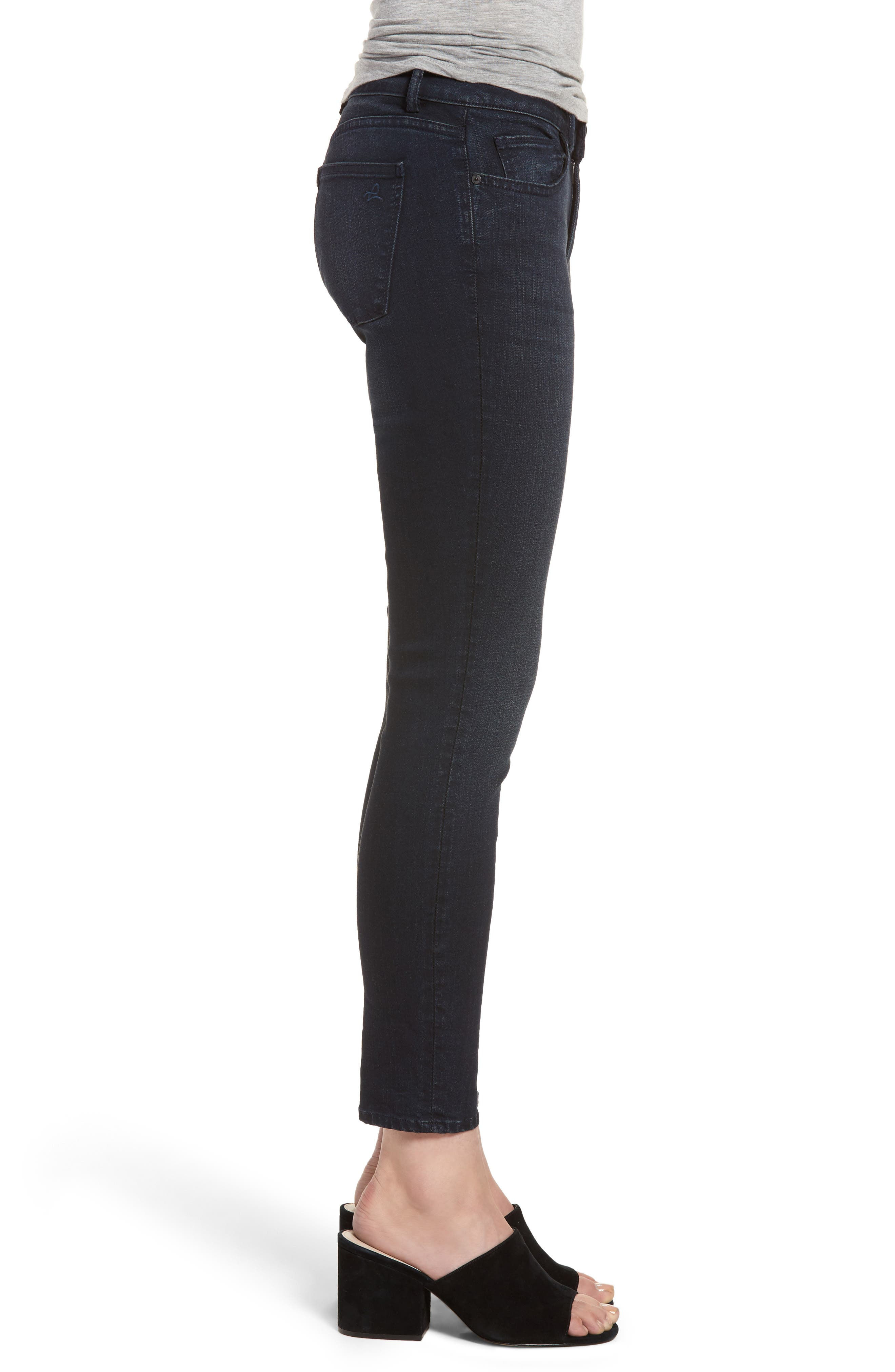 Coco Curvy Skinny Ankle Jeans,                             Alternate thumbnail 3, color,