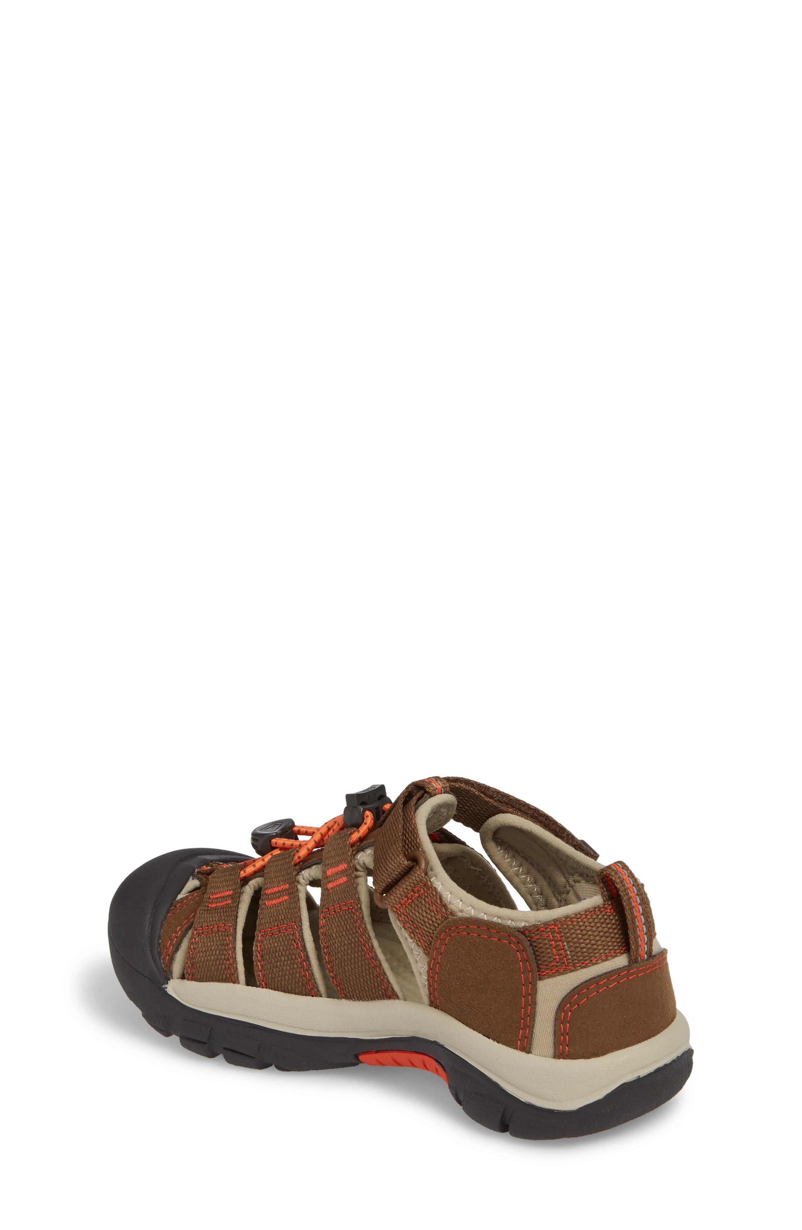 'Newport H2' Water Friendly Sandal,                             Alternate thumbnail 2, color,                             DARK EARTH/ SPICY ORANGE