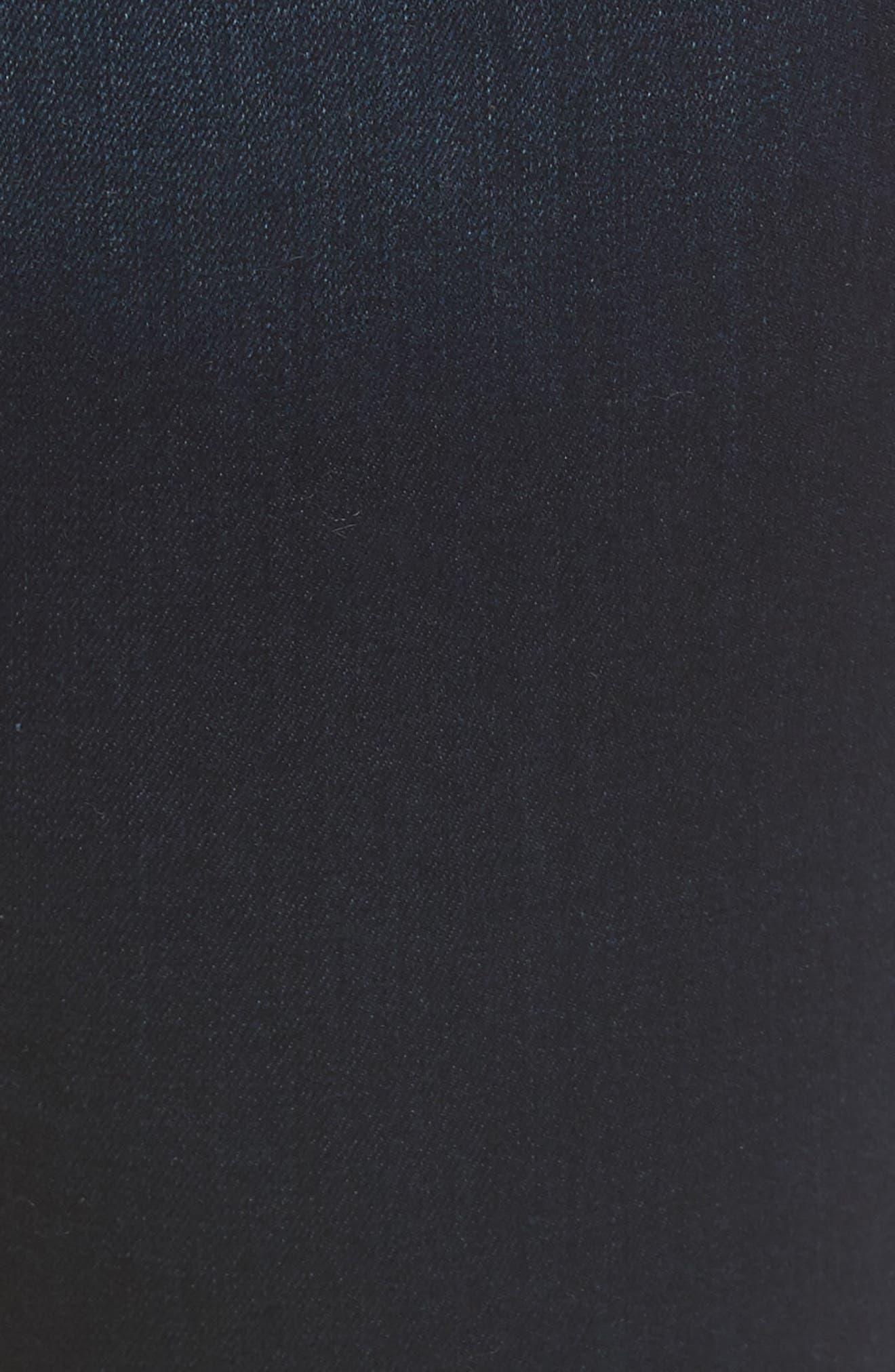 Slim Straight Jeans,                             Alternate thumbnail 5, color,                             400