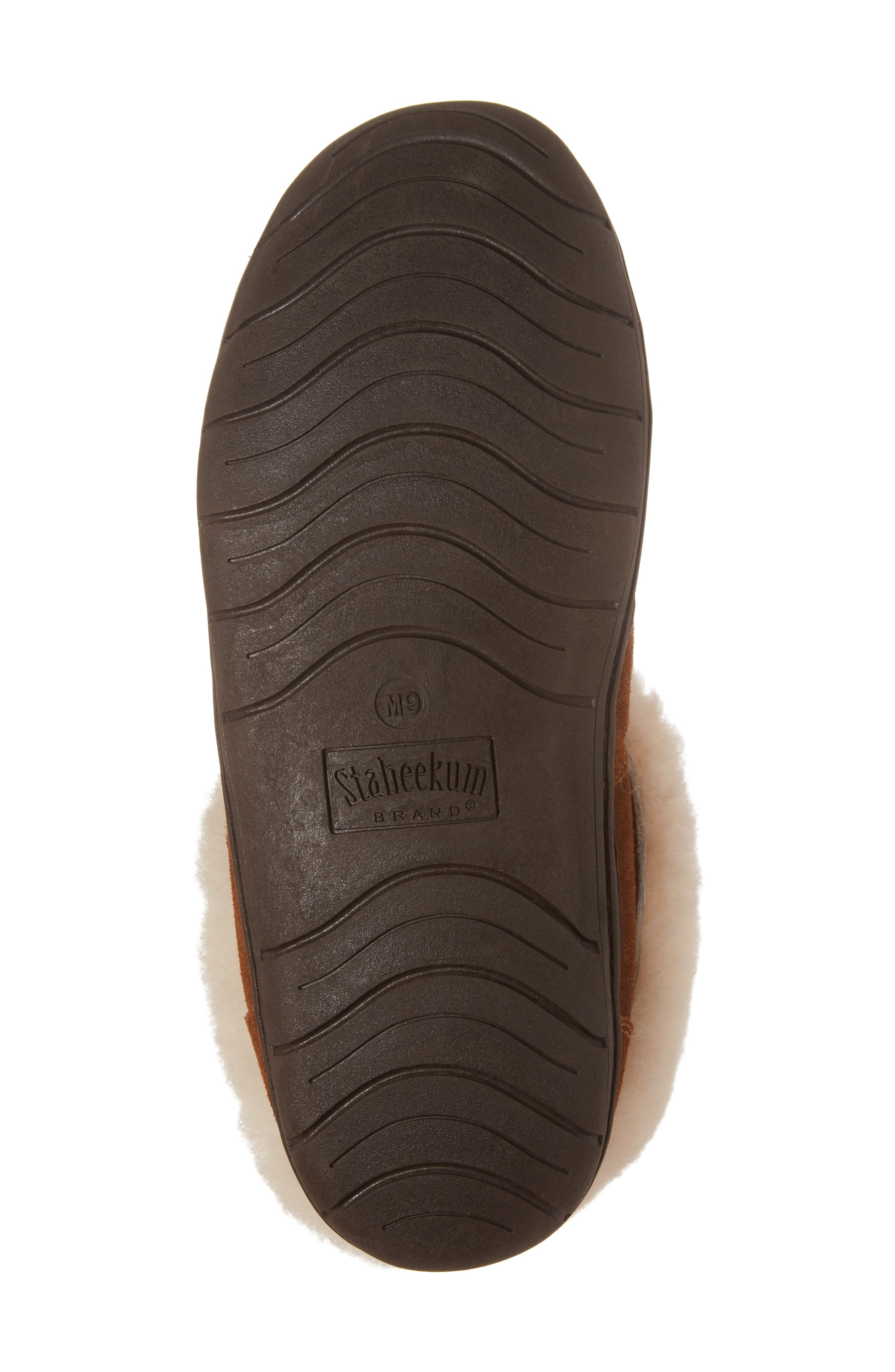 Tundra Slipper Bootie with Genuine Shearling Lining,                             Alternate thumbnail 6, color,                             212