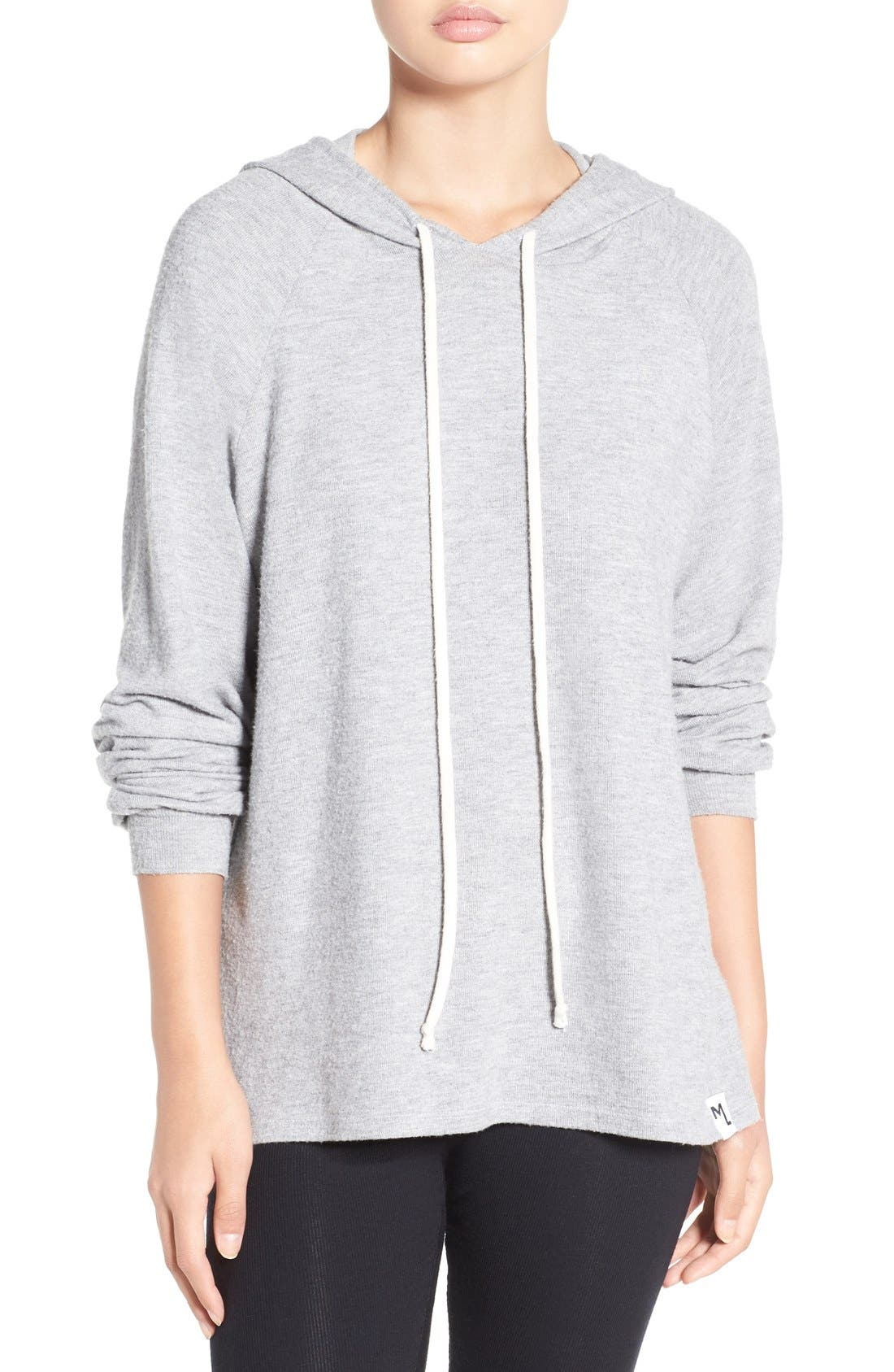 'Trevor' Cotton Blend Hoodie,                         Main,                         color,