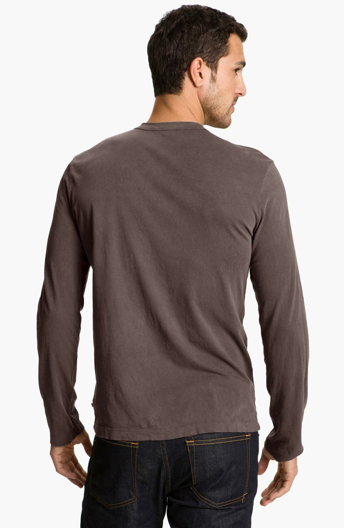 Long Sleeve Crewneck T-Shirt,                             Alternate thumbnail 46, color,