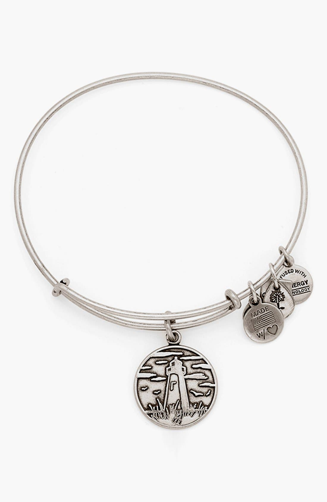 'Lighthouse' Expandable Wire Bangle, Main, color, 040