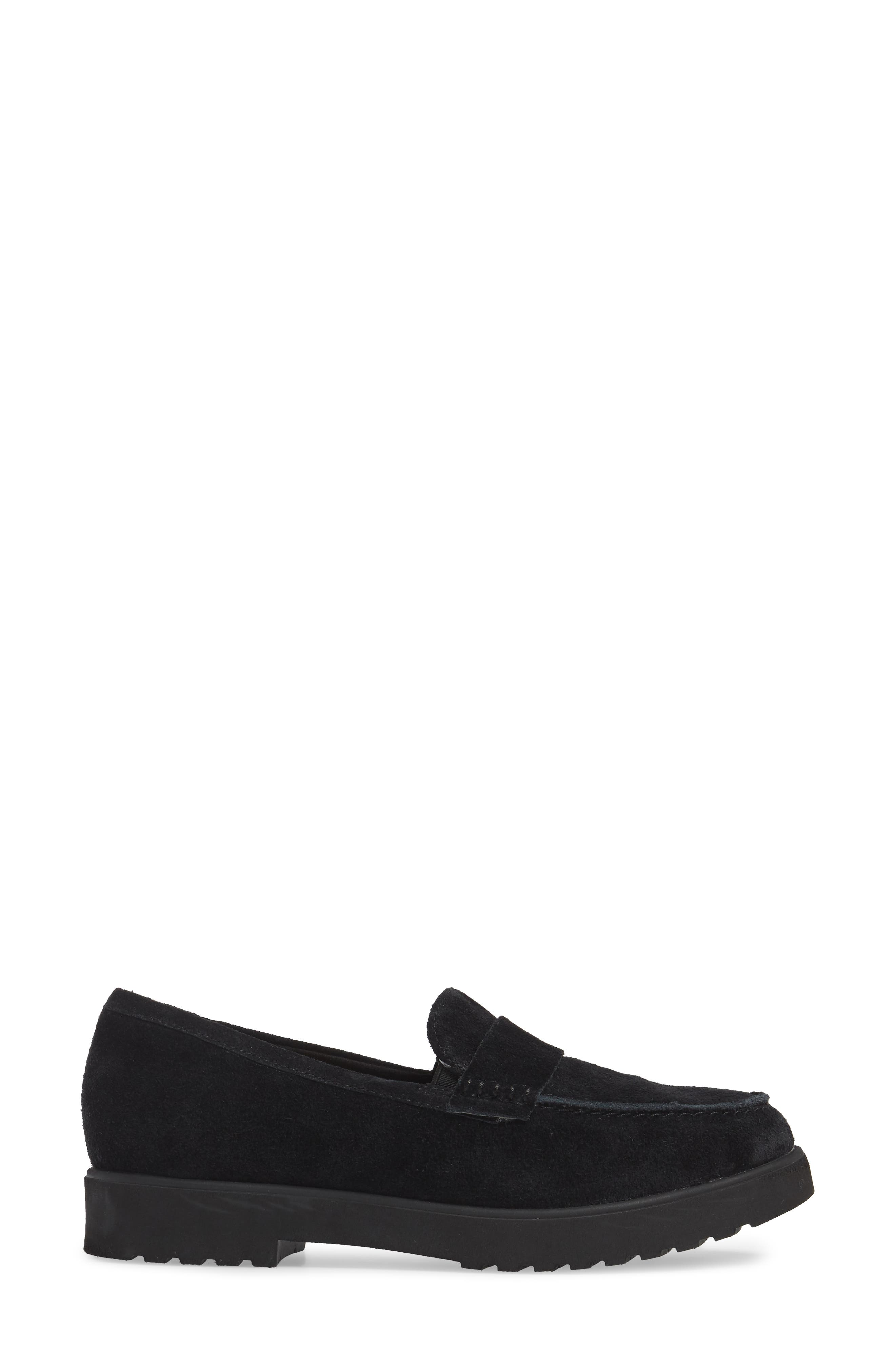 Bellevue Hazen Loafer,                             Alternate thumbnail 3, color,                             001