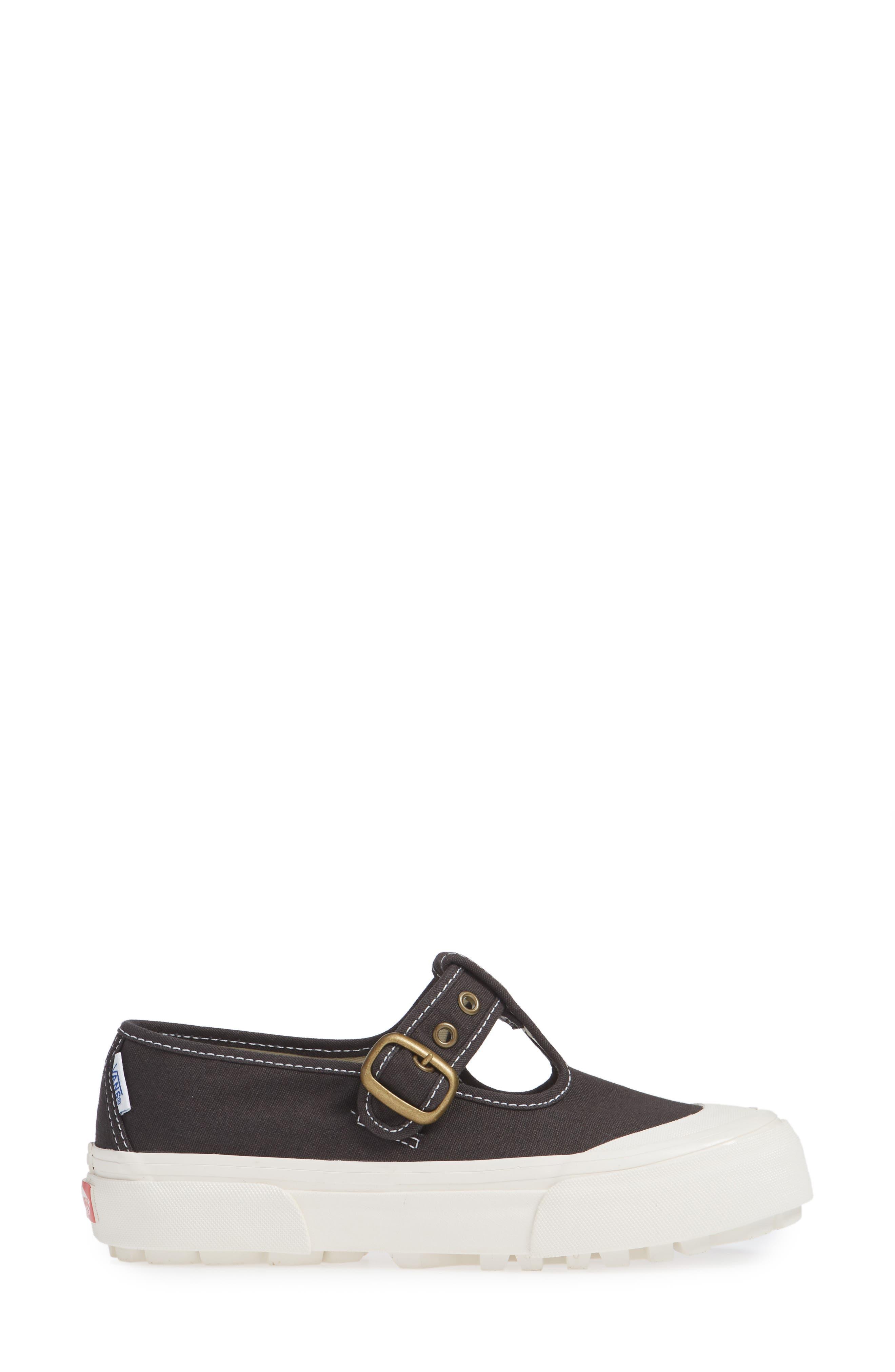 Anaheim Factory 93 DX T-Strap Sneaker,                             Alternate thumbnail 3, color,                             BLACK