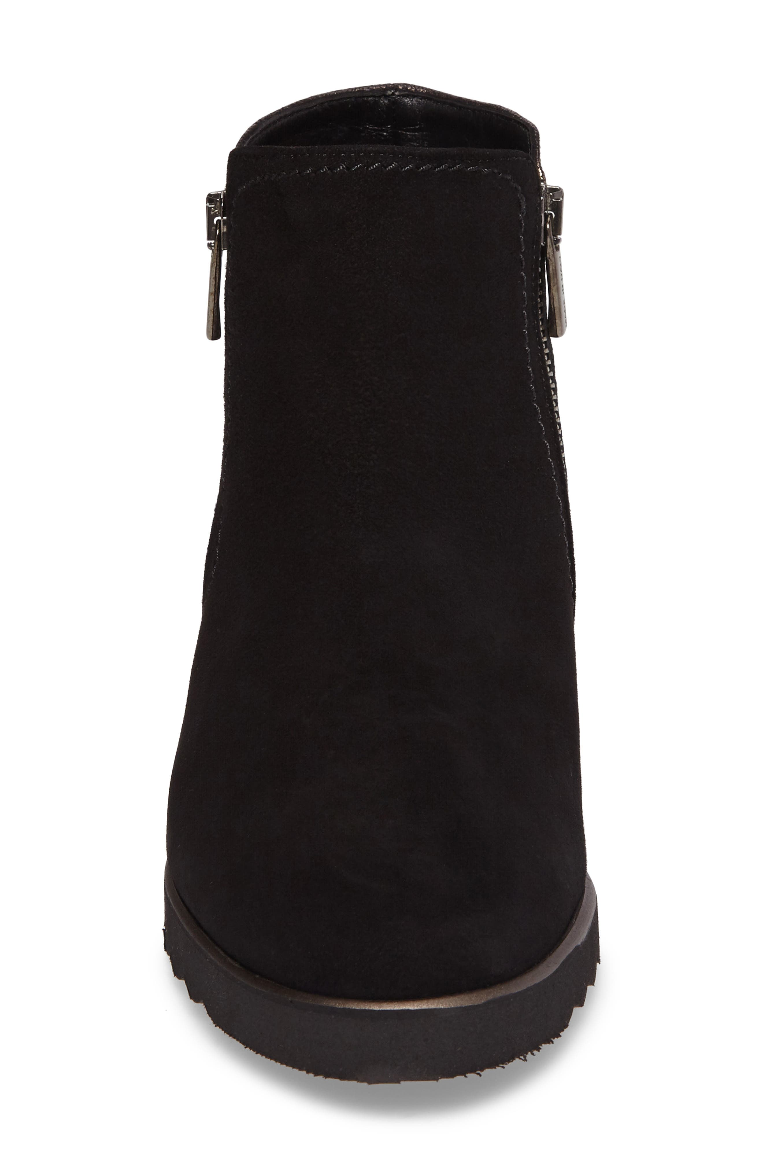 Addie Wedge Bootie,                             Alternate thumbnail 4, color,