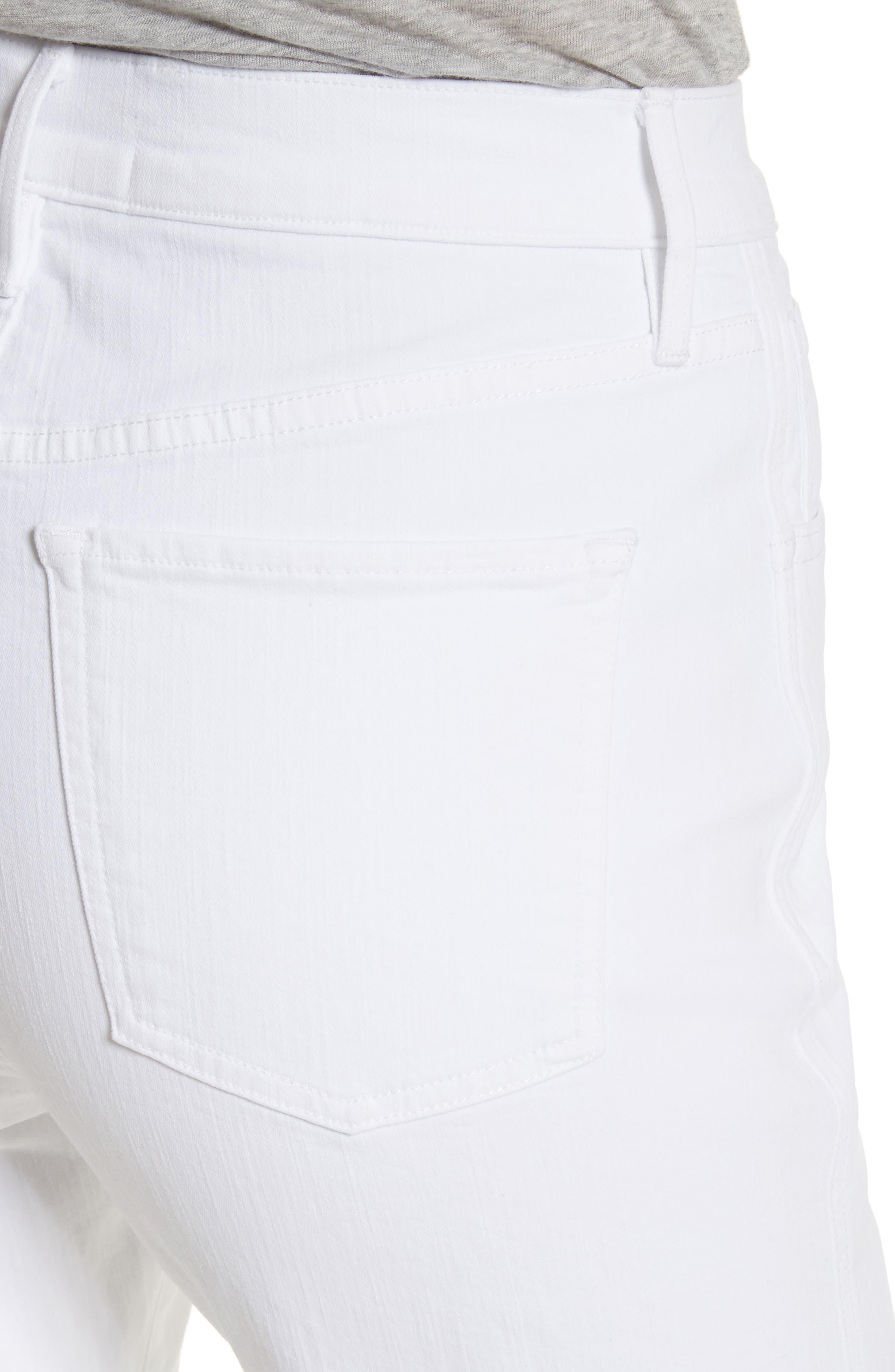 W4 Adeline Split Leg Flare Jeans,                             Alternate thumbnail 4, color,                             ASPRO