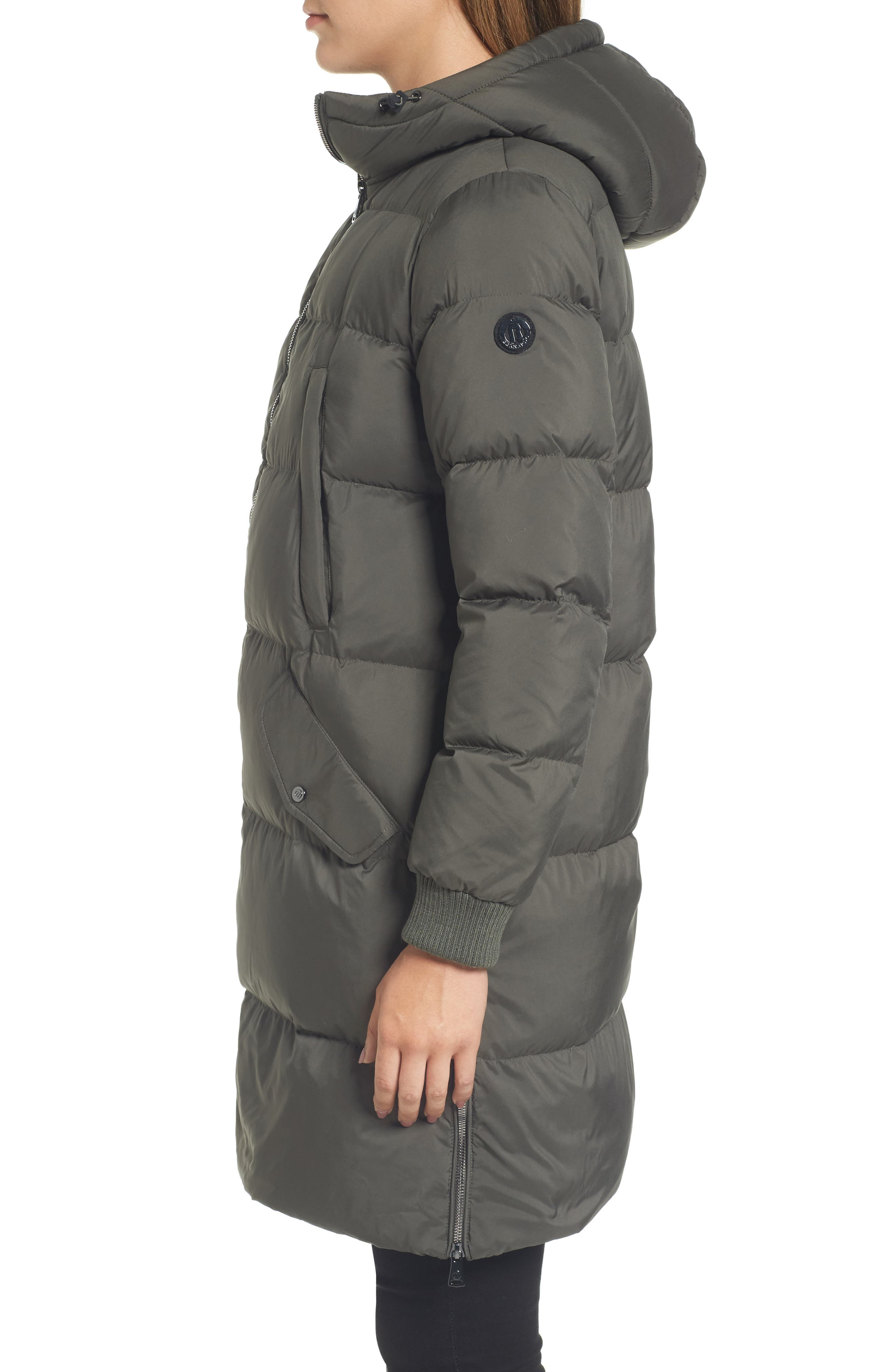 Quilted Down Jacket,                             Alternate thumbnail 3, color,                             311