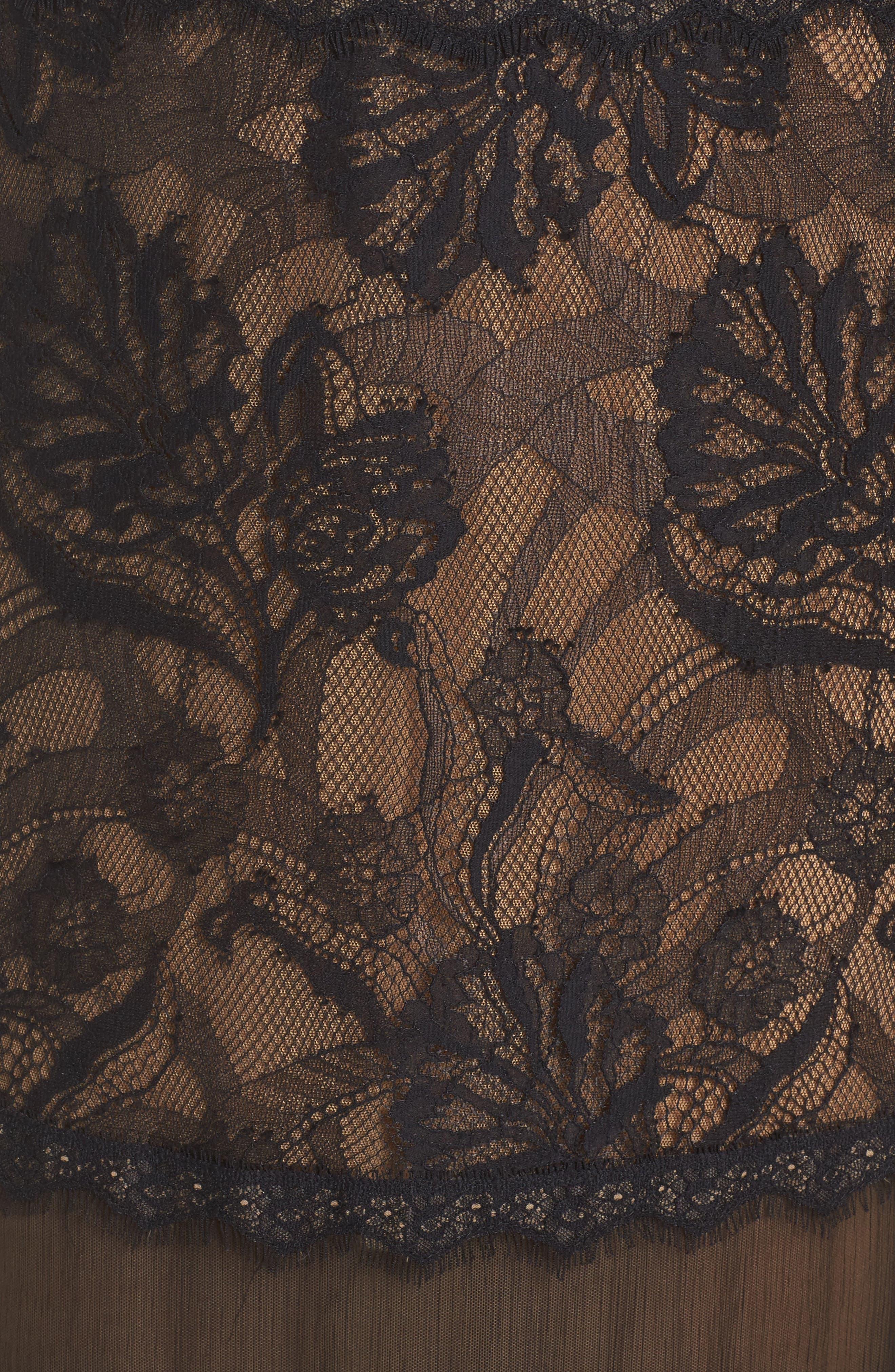 Mermaid Gown,                             Alternate thumbnail 5, color,                             004
