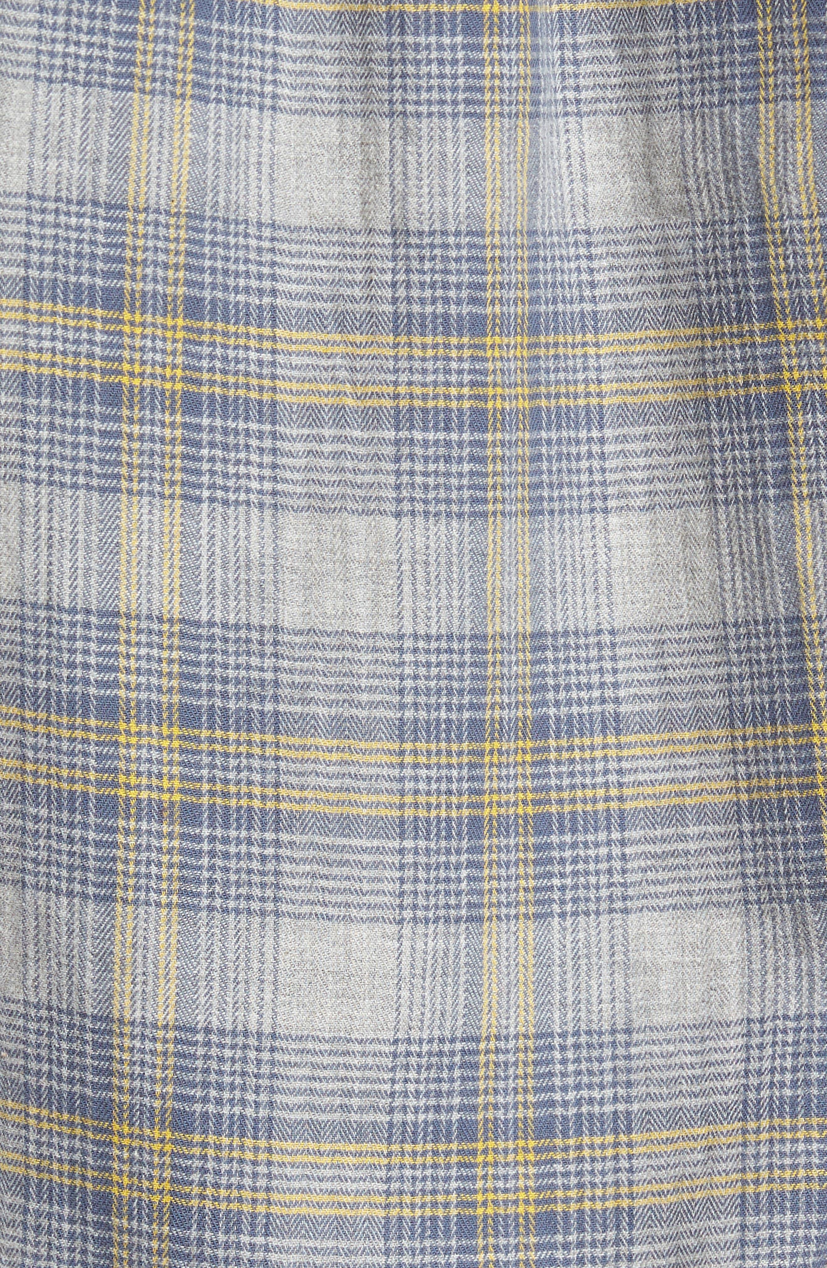 Laugna Herringbone Twill Shirt,                             Alternate thumbnail 5, color,                             032