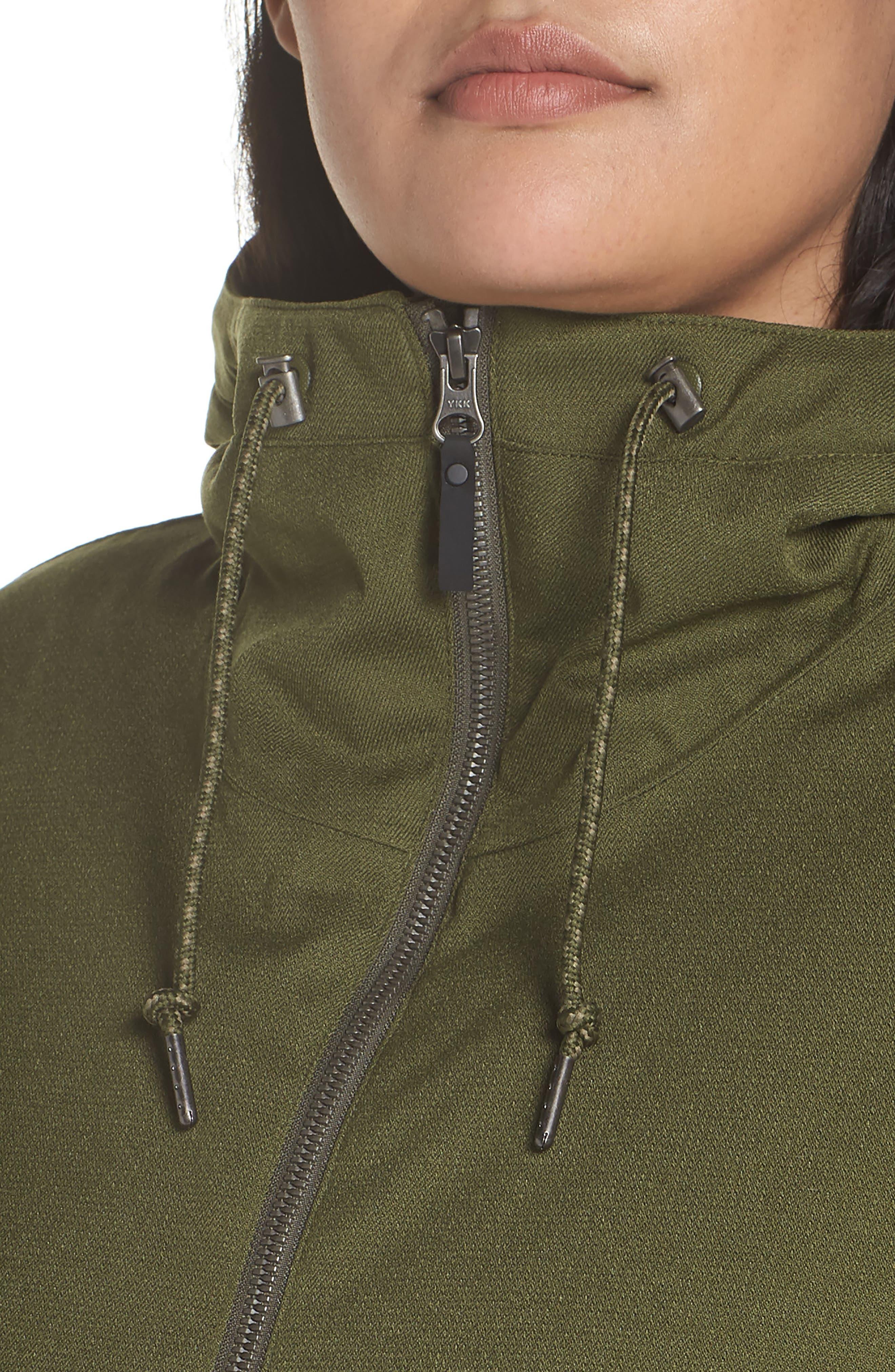 Boundary Bay Waterproof Hybrid Jacket,                             Alternate thumbnail 4, color,                             383