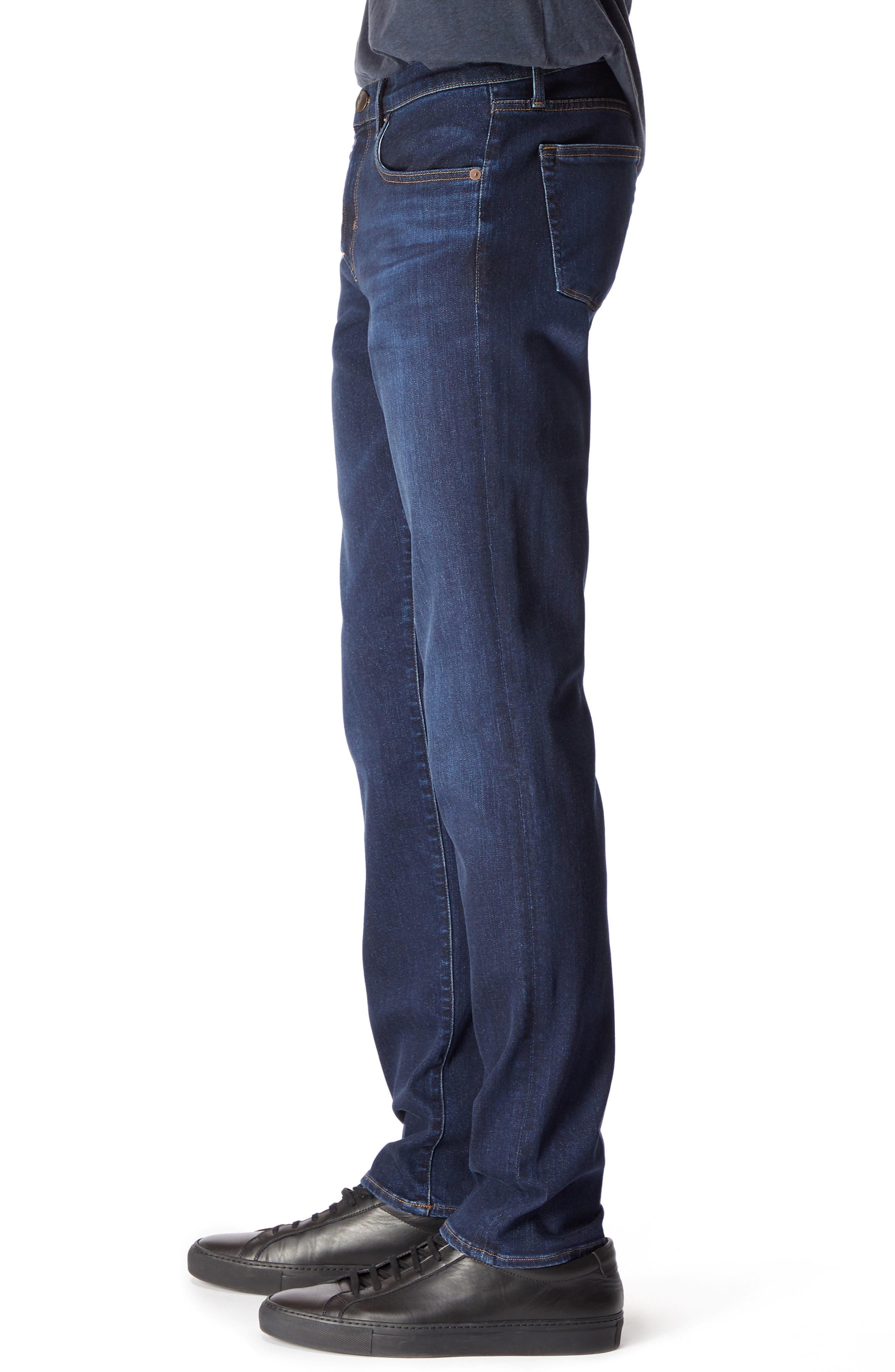 Kane Slim Straight Leg Jeans,                             Alternate thumbnail 3, color,                             GLEETING