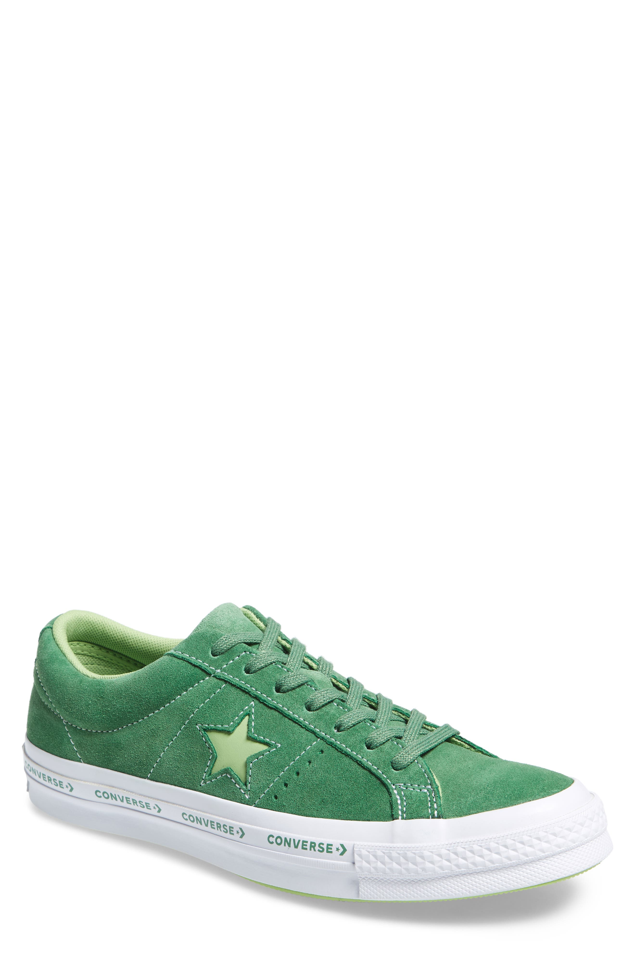 Chuck Taylor<sup>®</sup> One Star Pinstripe Sneaker,                         Main,                         color, 350
