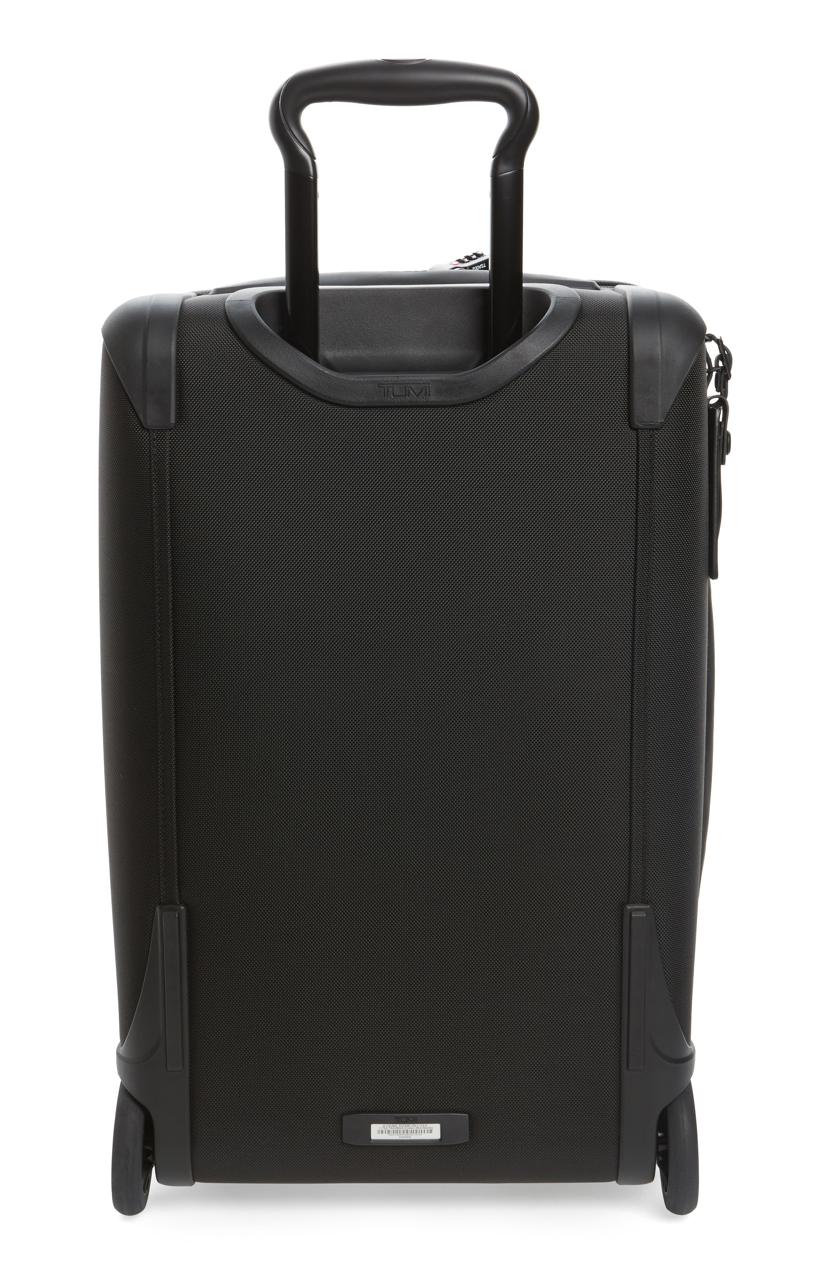 Alpha 2 22-Inch International Carry-On,                             Alternate thumbnail 4, color,                             BLACK