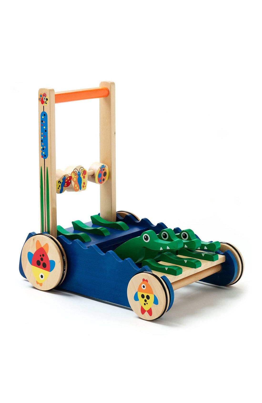 Chomp & Clack Alligator Push Toy,                             Alternate thumbnail 2, color,                             MUL