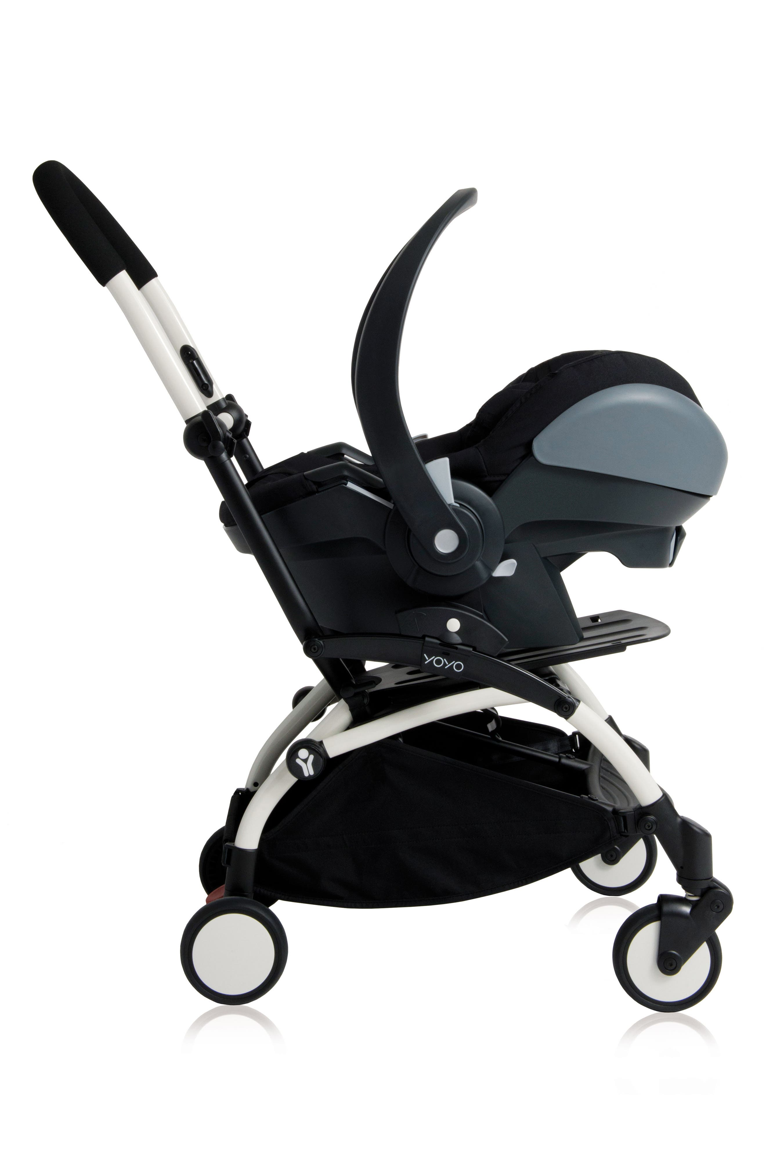 Babyzen Adapters for YOYO+ Stroller & Cybex, Nuna and Maxi-Cosi<sup>®</sup> Infant Car Seats,                             Alternate thumbnail 2, color,                             BLACK