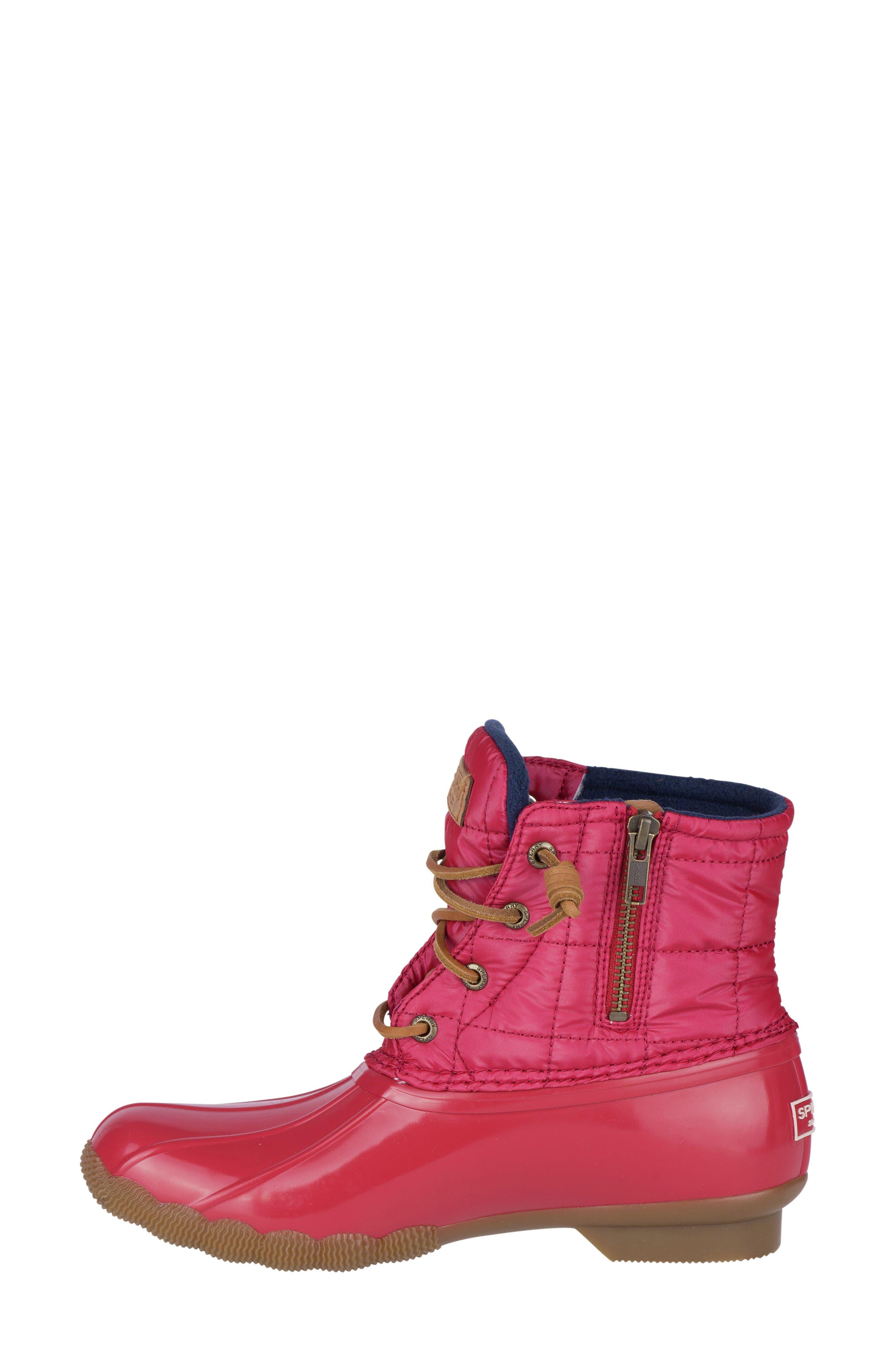 'Saltwater' Waterproof Rain Boot,                             Alternate thumbnail 76, color,