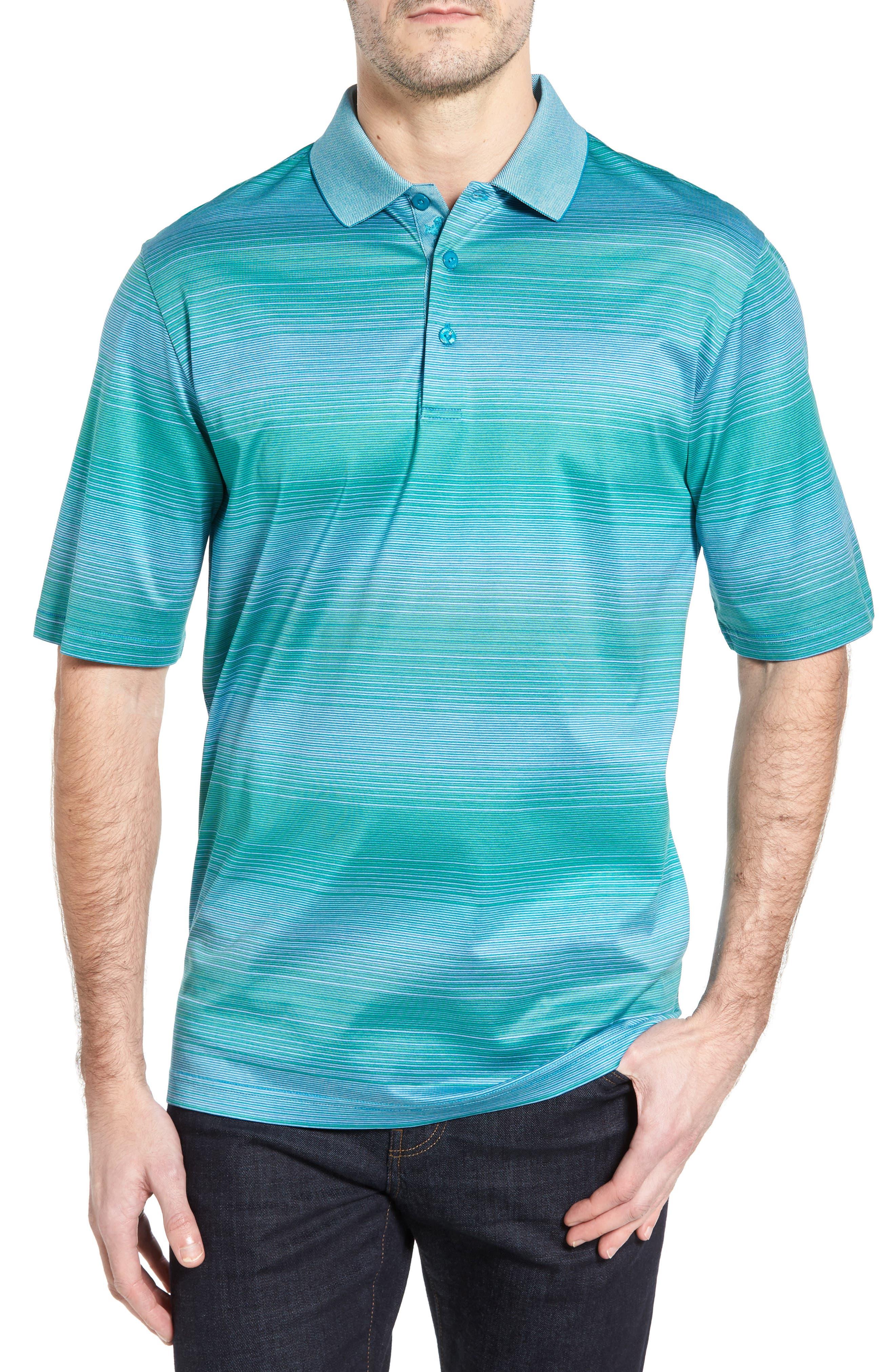 Stripe Jersey Polo,                         Main,                         color, 301