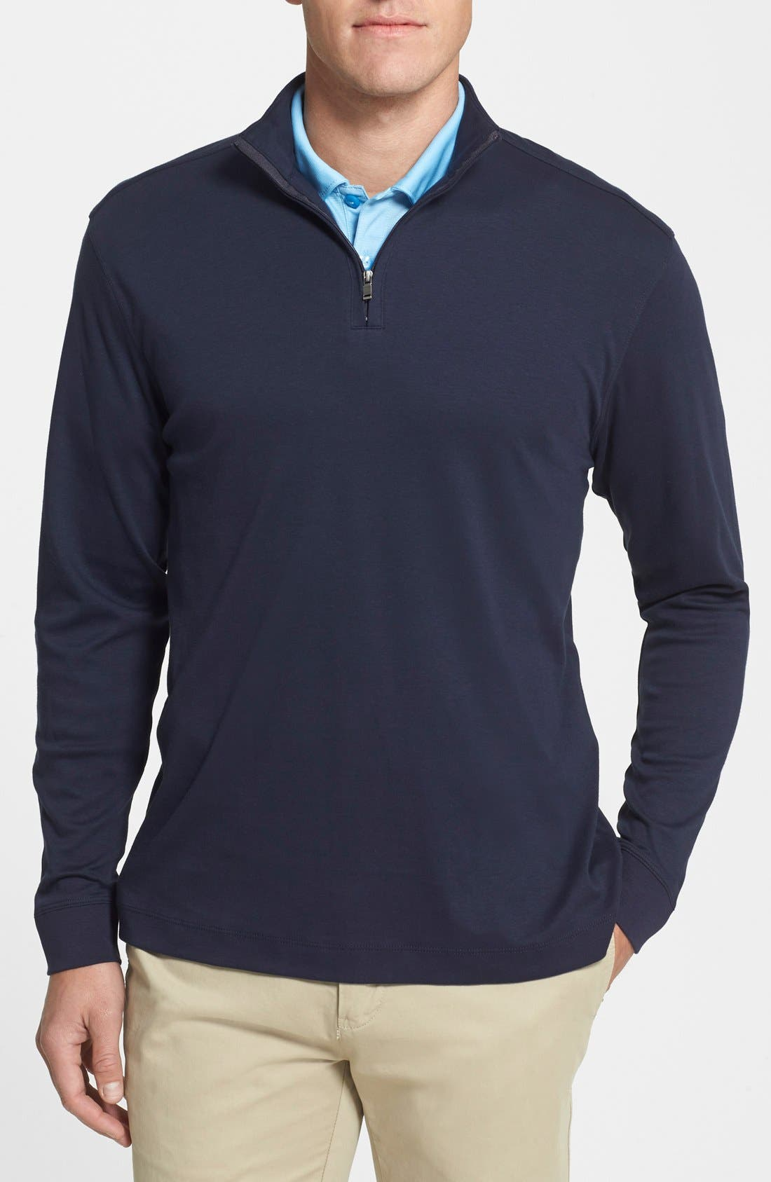 Belfair Quarter Zip Pullover,                         Main,                         color, 493