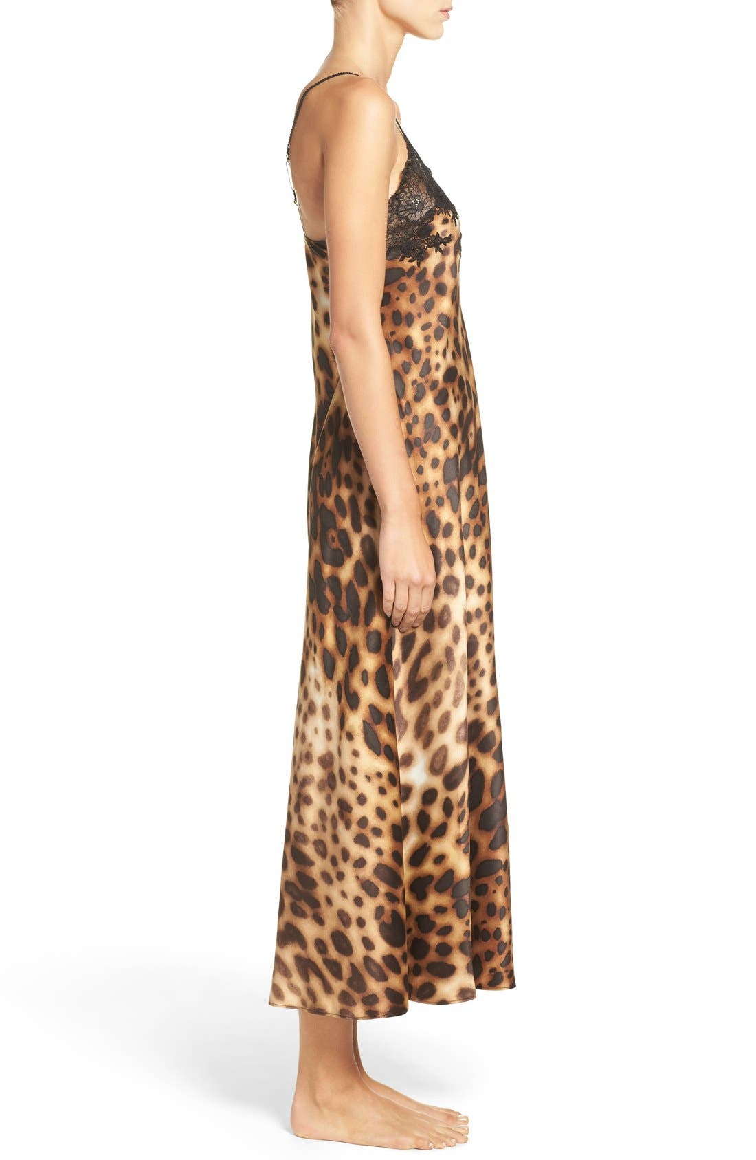 Leopard Nightgown,                             Alternate thumbnail 3, color,                             200