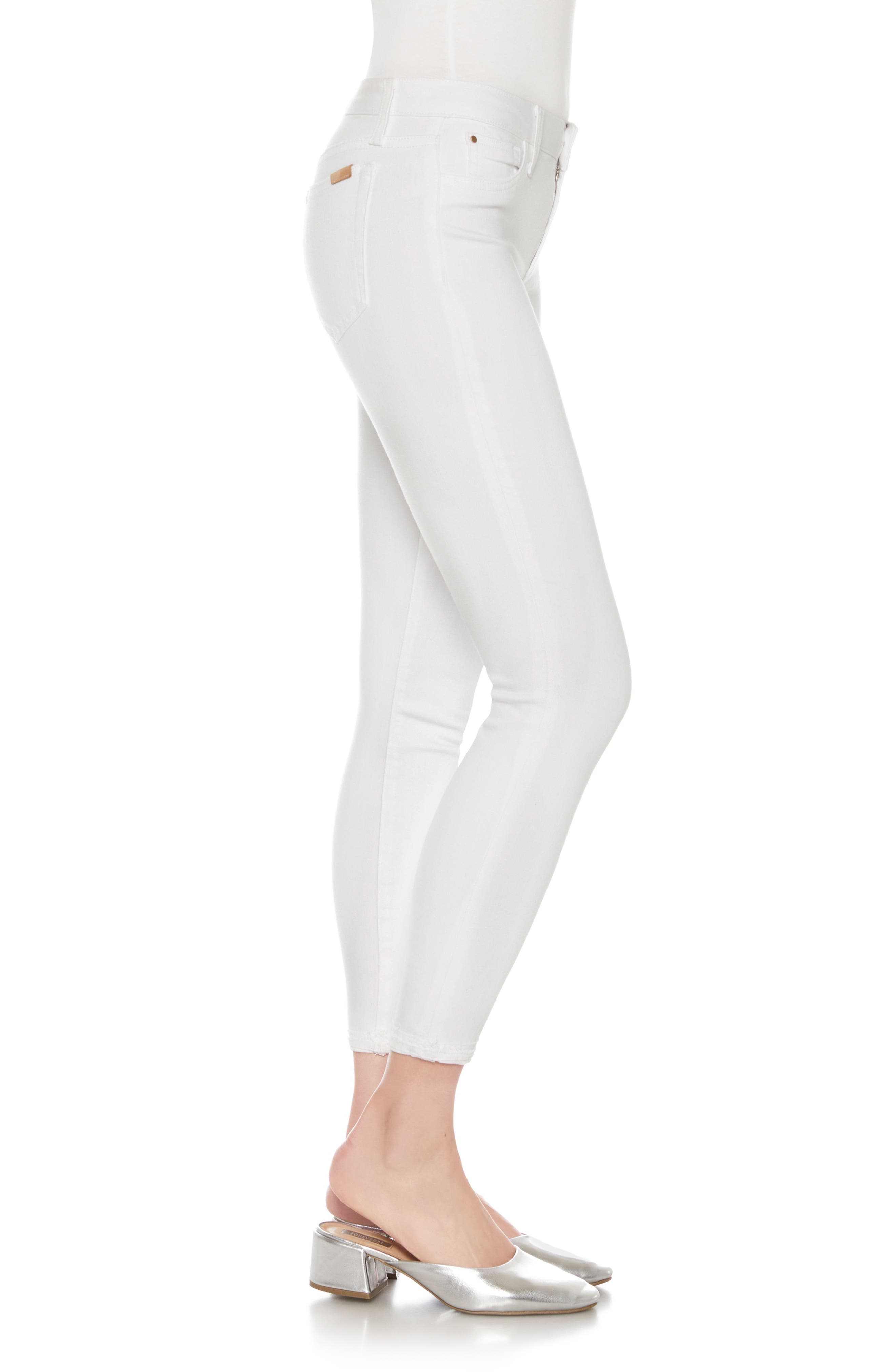 Icon Ankle Skinny Jeans,                             Alternate thumbnail 3, color,                             HENNIE