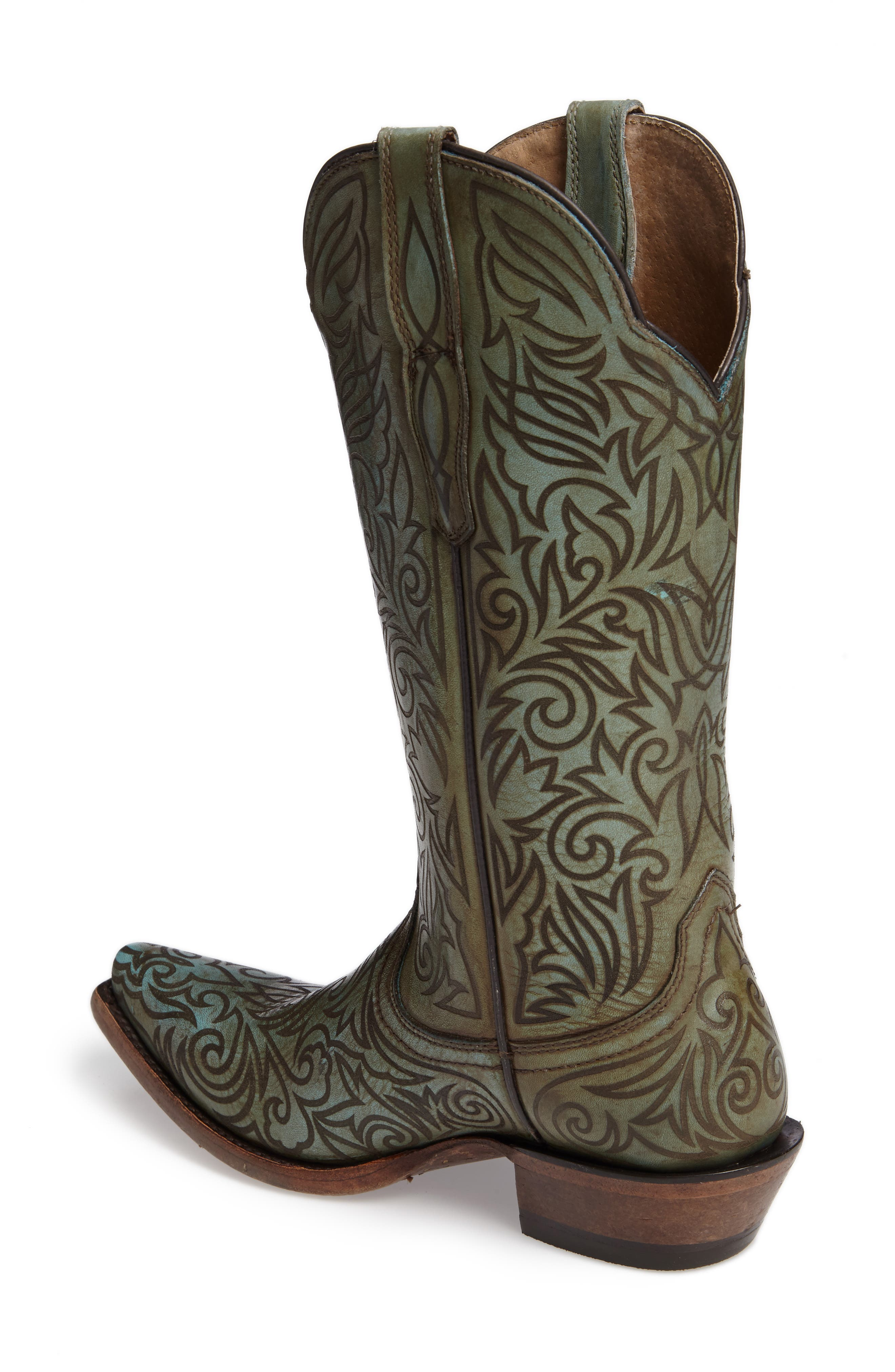 Sterling Western Boot,                             Alternate thumbnail 2, color,                             400