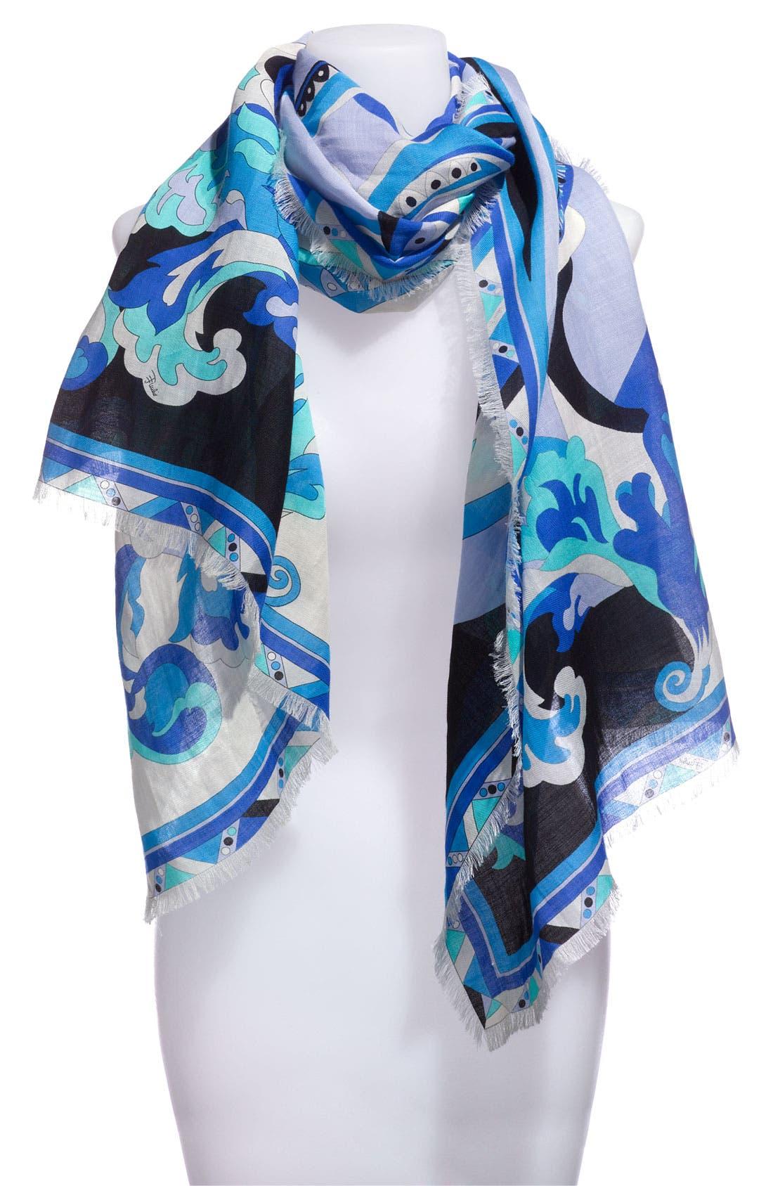 'Delft' Scarf, Main, color, 400